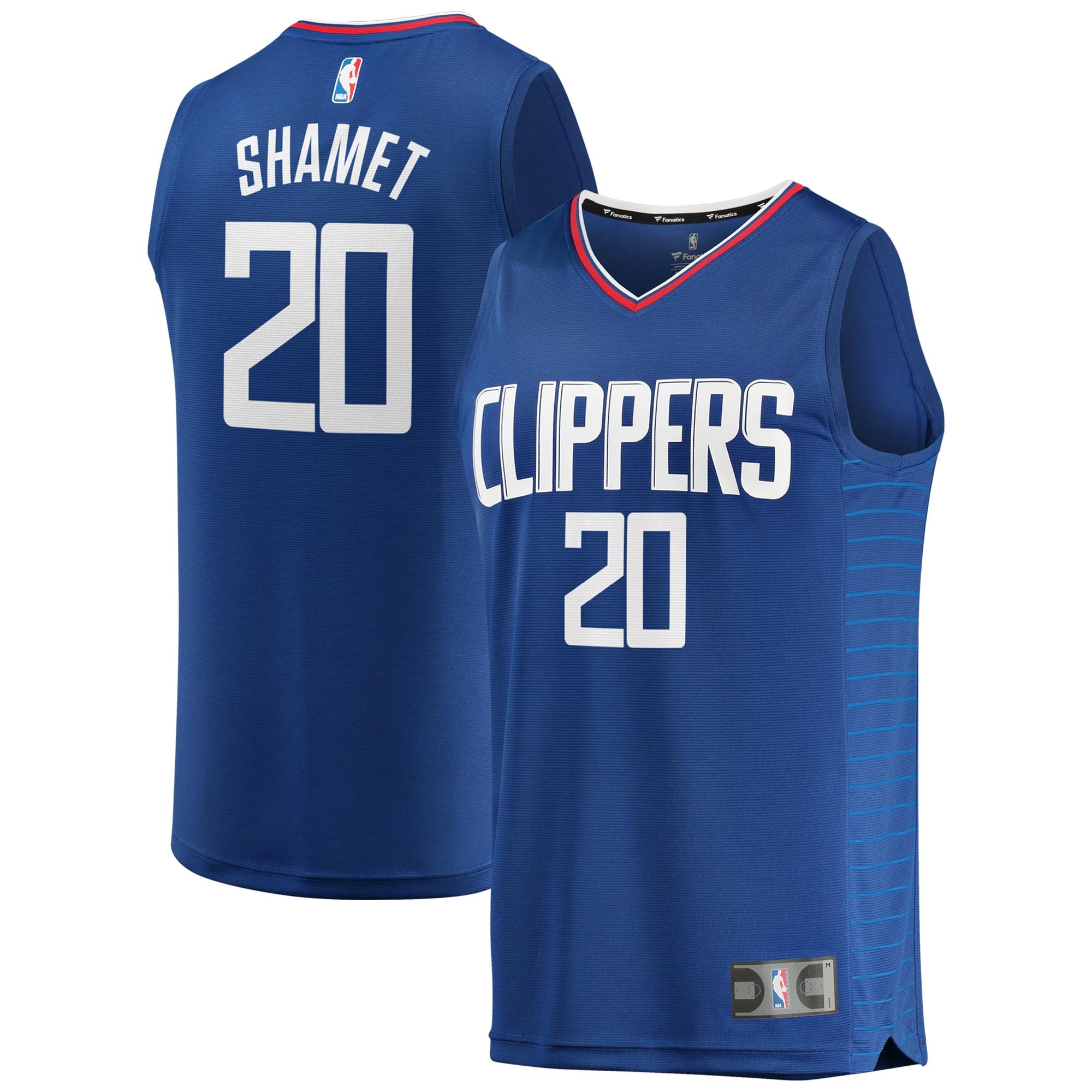Landry Shamet LA Clippers Fanatics Branded Fast Break Replica Jersey - Icon Edition - Royal