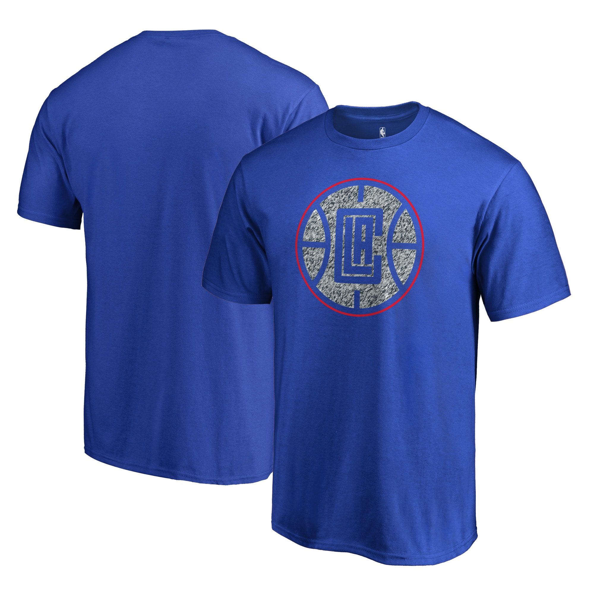 LA Clippers Fanatics Branded Static Logo Big and Tall T-Shirt - Blue