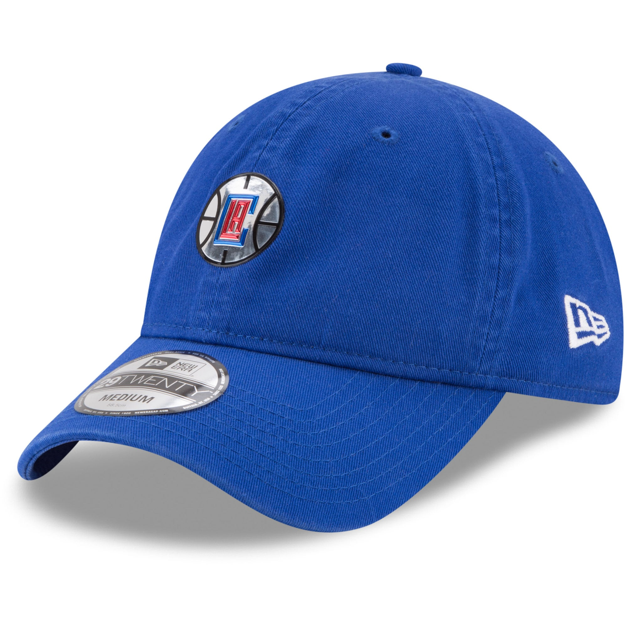 LA Clippers New Era On-Court 29TWENTY Fitted Hat - Royal