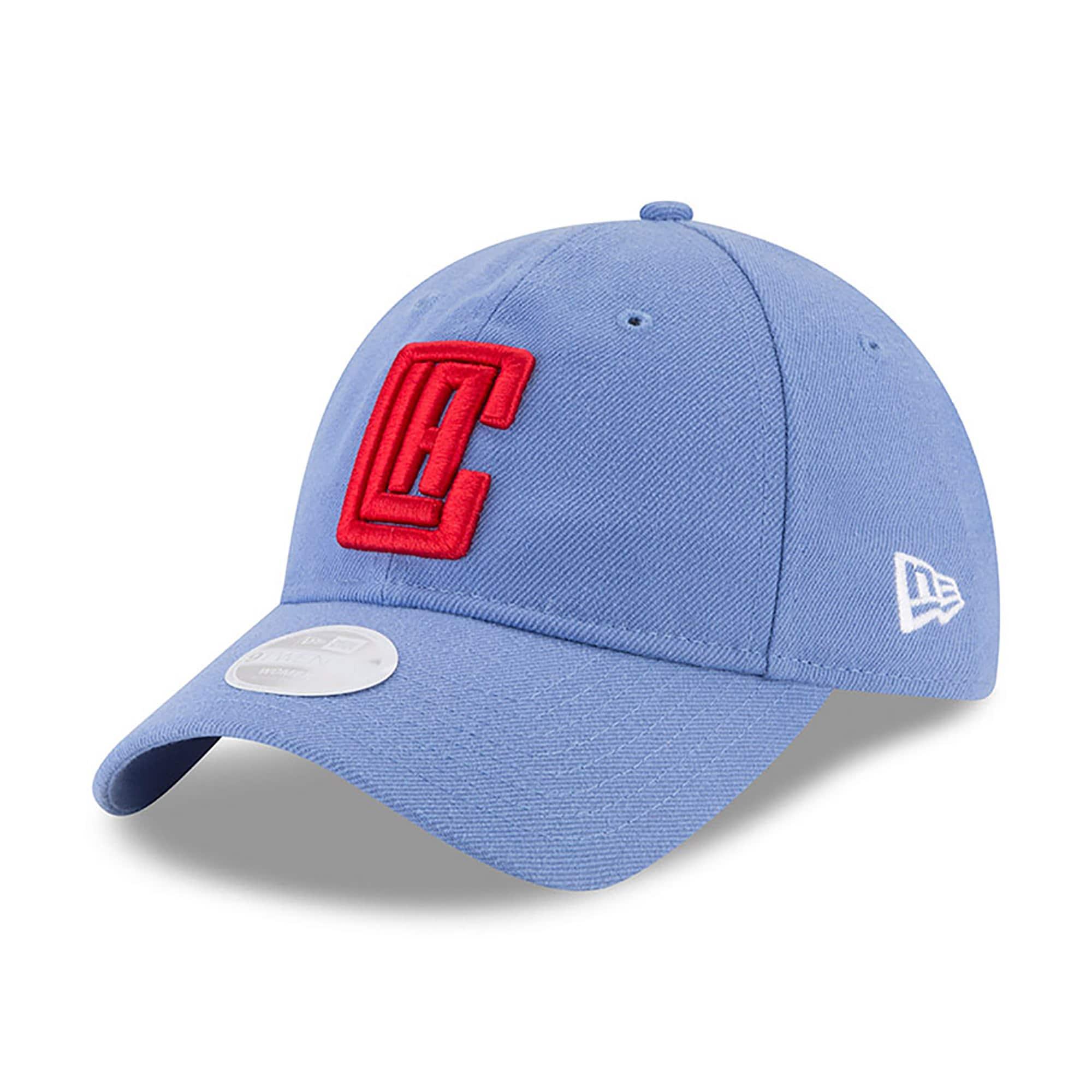 LA Clippers New Era Women's NBA City Series 9TWENTY Adjustable Hat - Light Blue