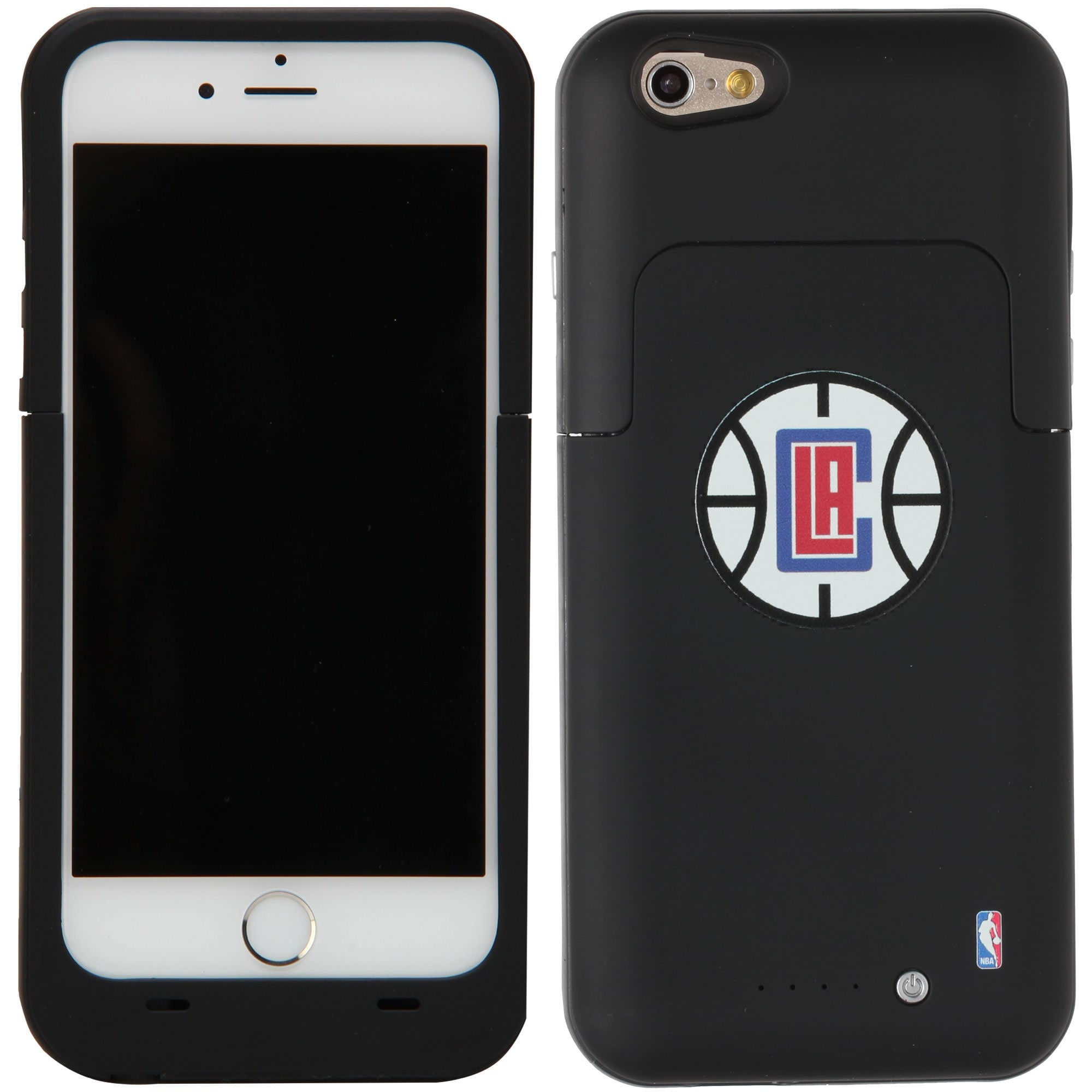 LA Clippers iPhone 6/6S Boost Charging Case - Black