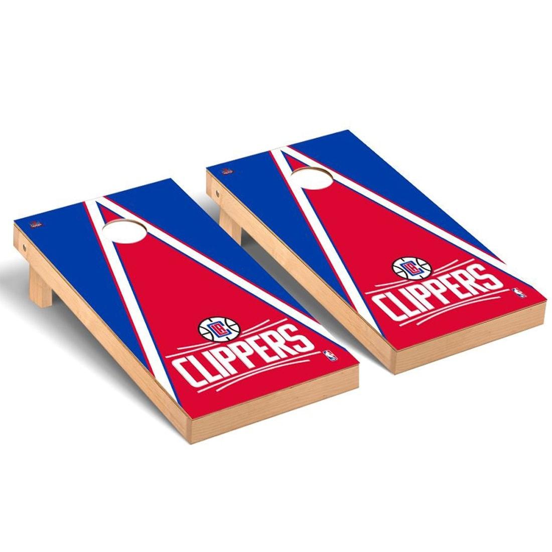 LA Clippers 2' x 4' Triangle Cornhole Game Set