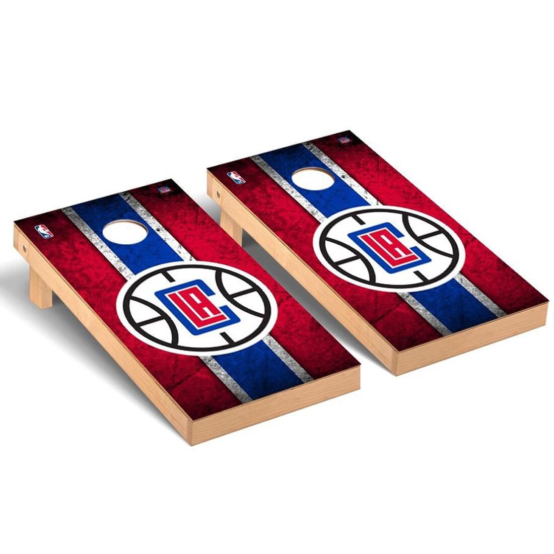 LA Clippers 2' x 4' Vintage New Cornhole Set