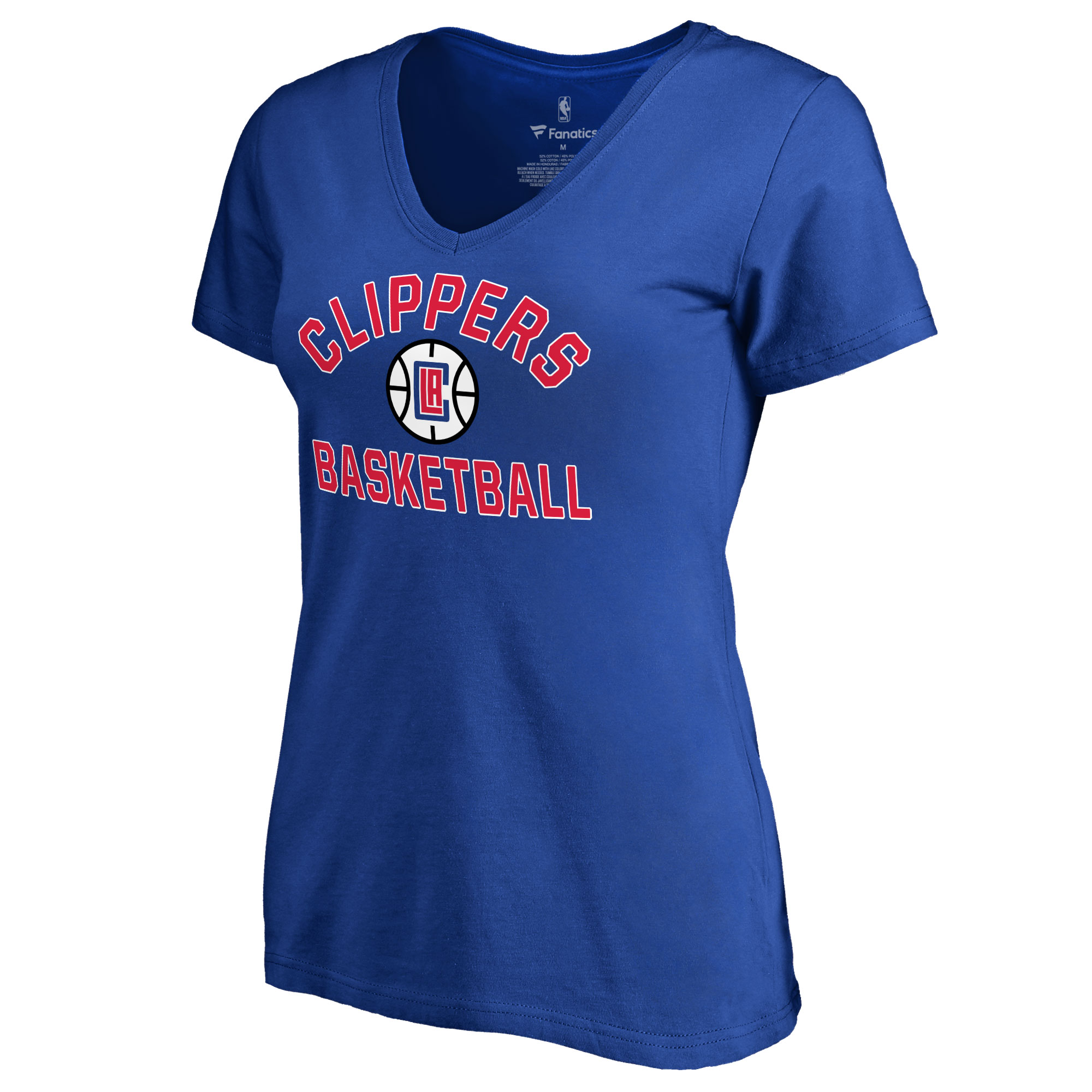 LA Clippers Women's Overtime T-Shirt - Royal