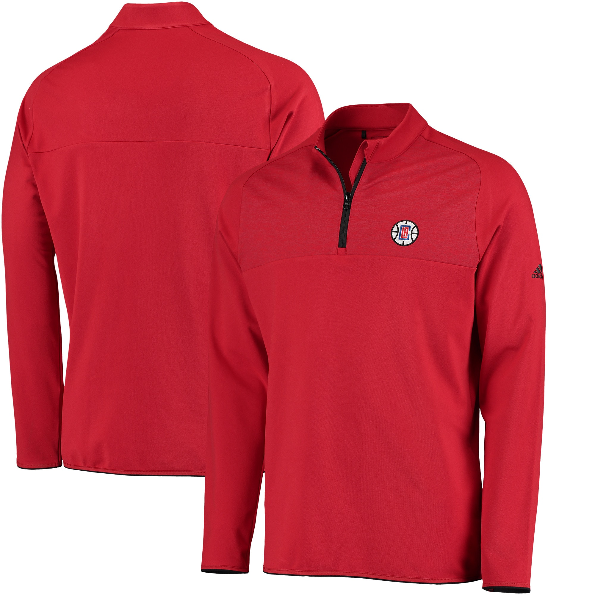 LA Clippers adidas Fashion 2 Layering climawarm Pullover Jacket - Red