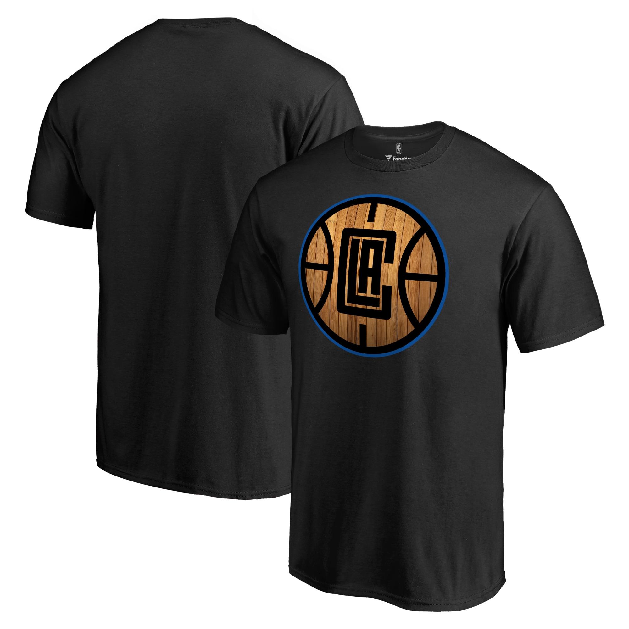 LA Clippers Hardwood T-Shirt - Black