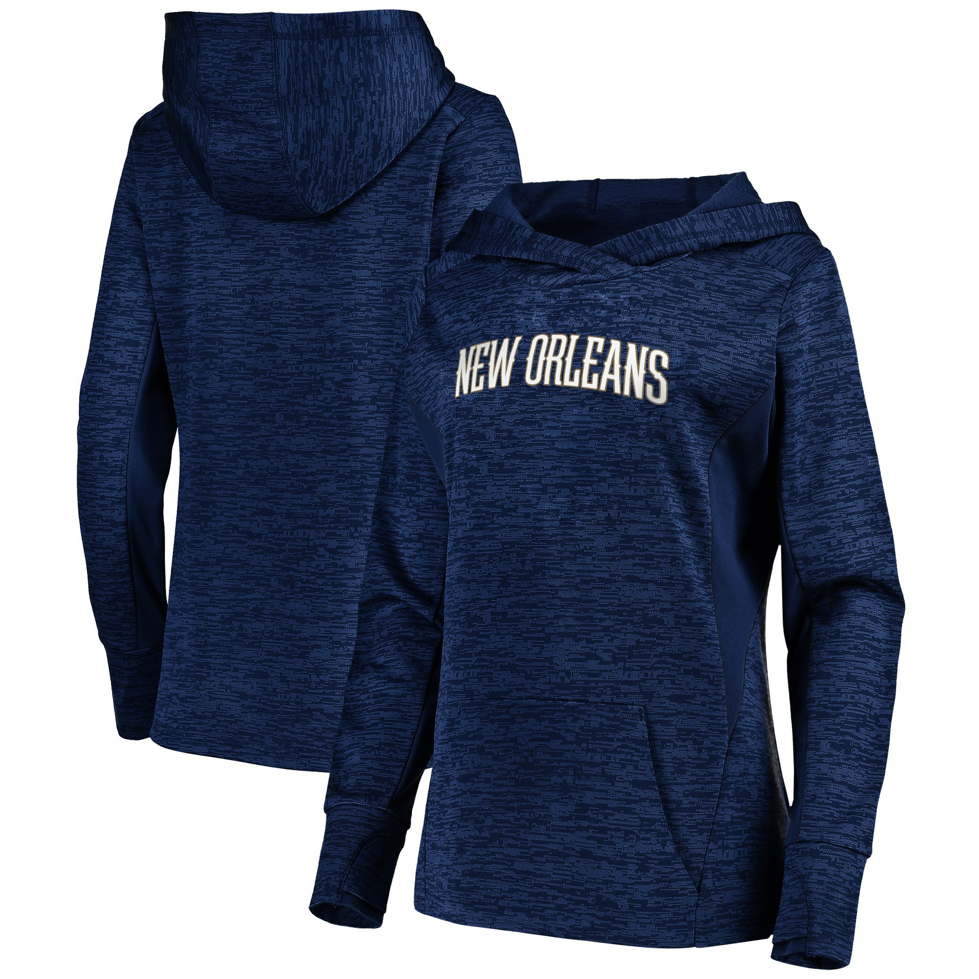 New Orleans Pelicans Fanatics Branded Women's Showtime Done Better Pullover Hoodie - Navy