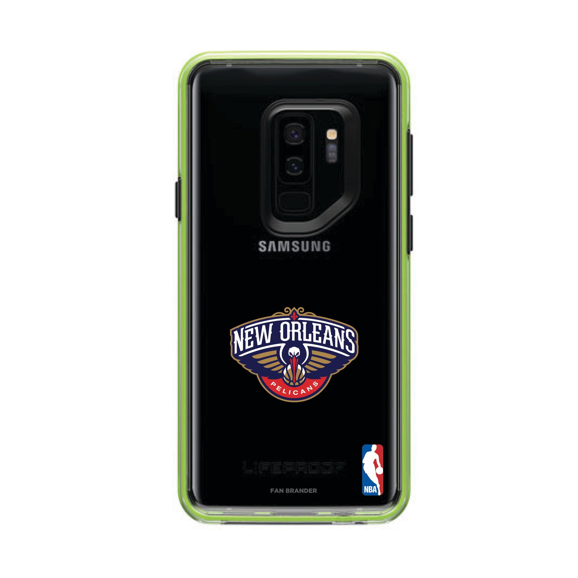 New Orleans Pelicans LifeProof Night Flash Primary Logo Galaxy Case