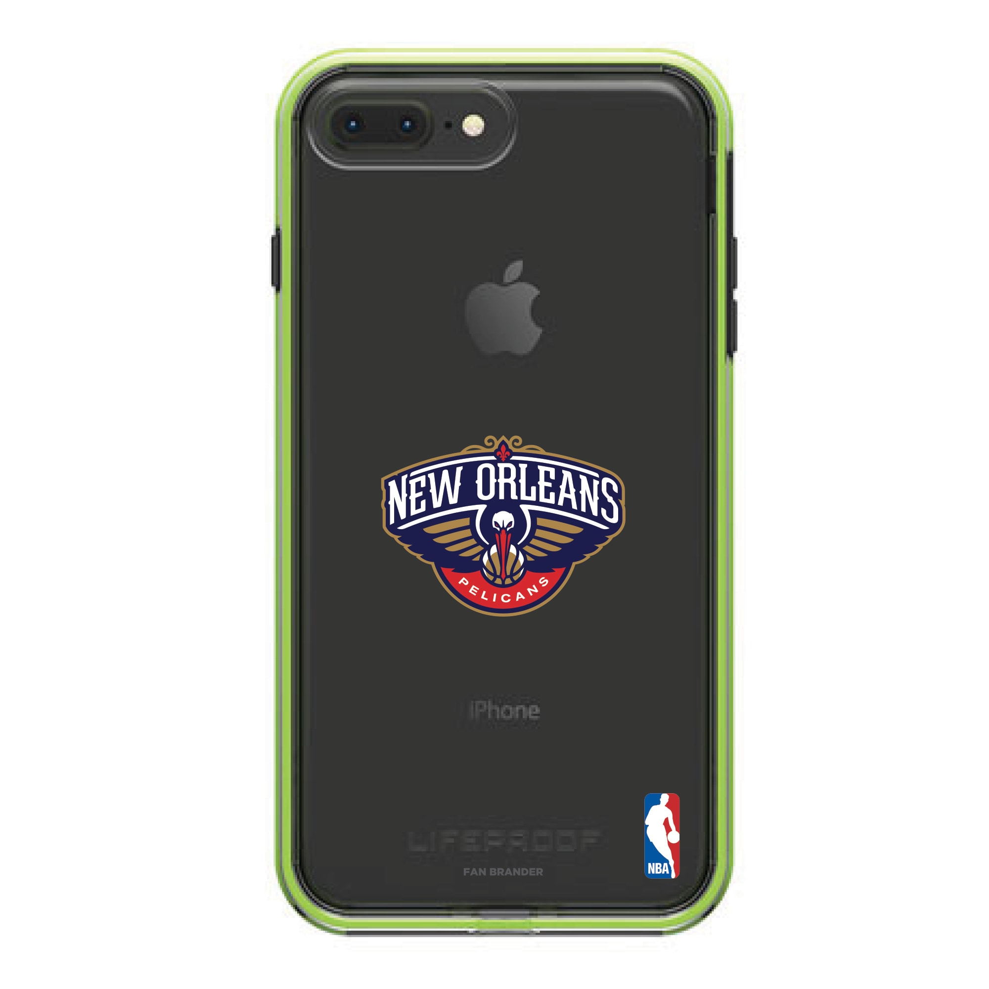 New Orleans Pelicans LifeProof Night Flash Primary Logo iPhone Case