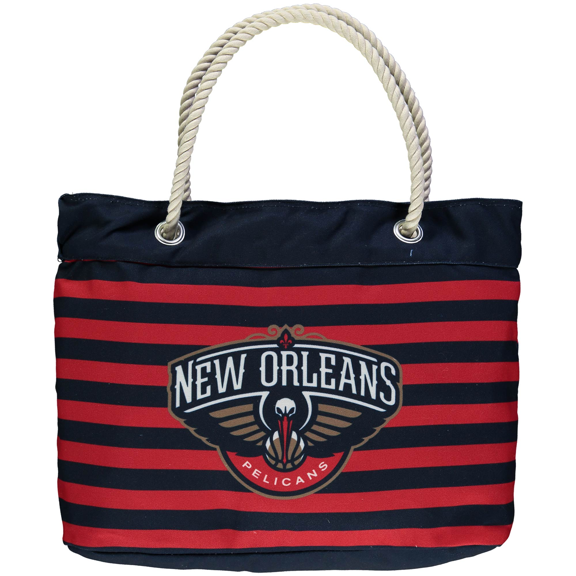 New Orleans Pelicans Nautical Stripe Tote