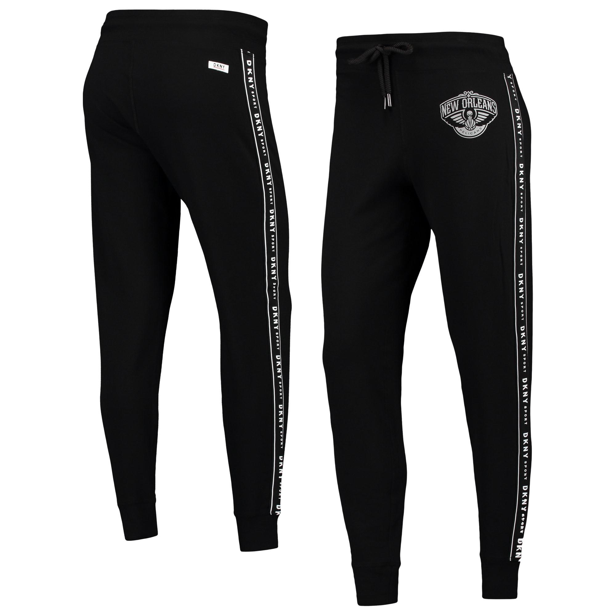 New Orleans Pelicans DKNY Sport Women's Brooke Jogger Pants - Black