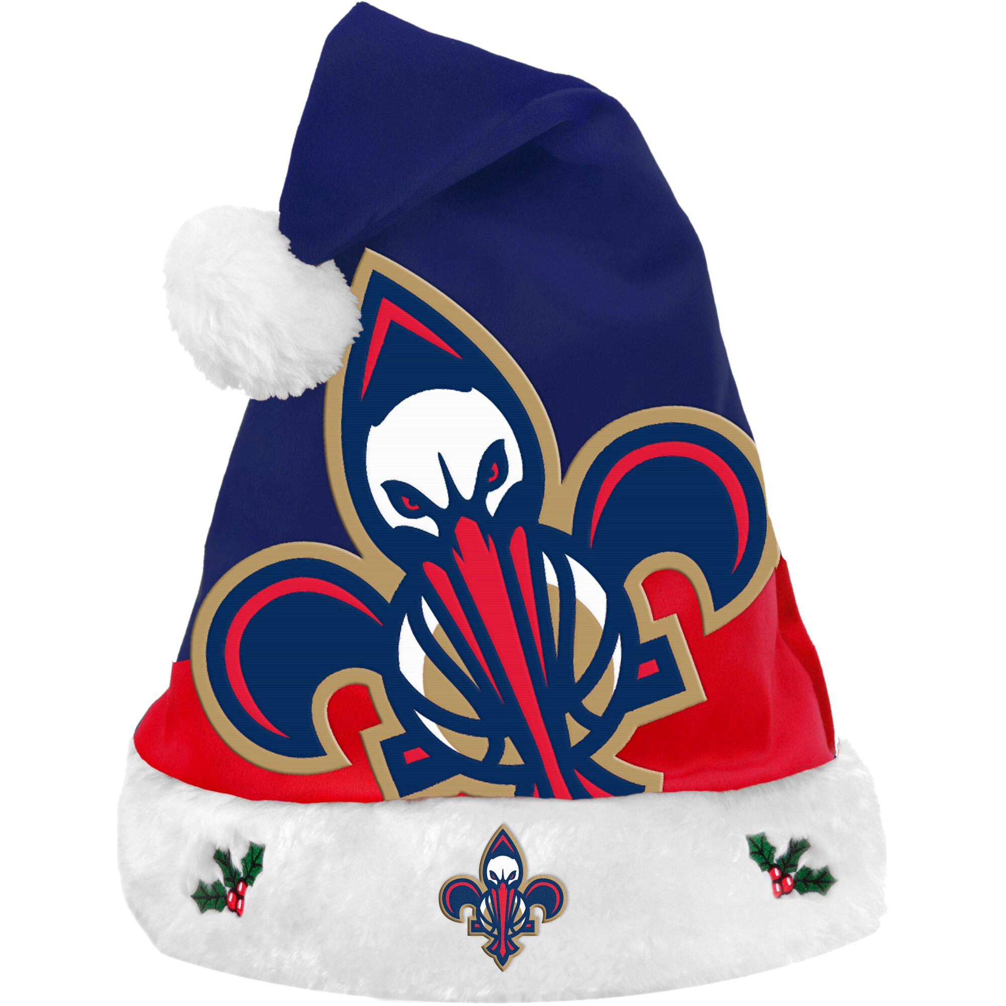 New Orleans Pelicans Team Basic Santa Hat