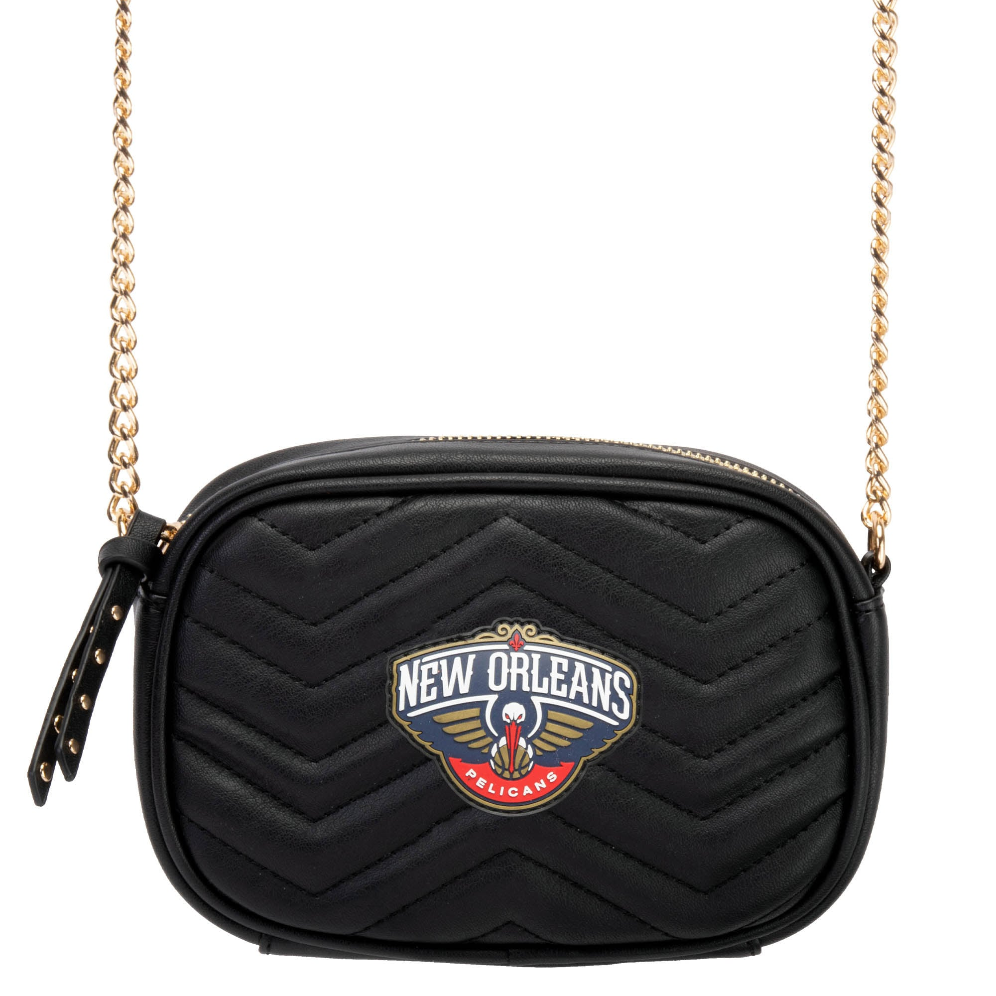 New Orleans Pelicans Women's Crossbody Bag - Black