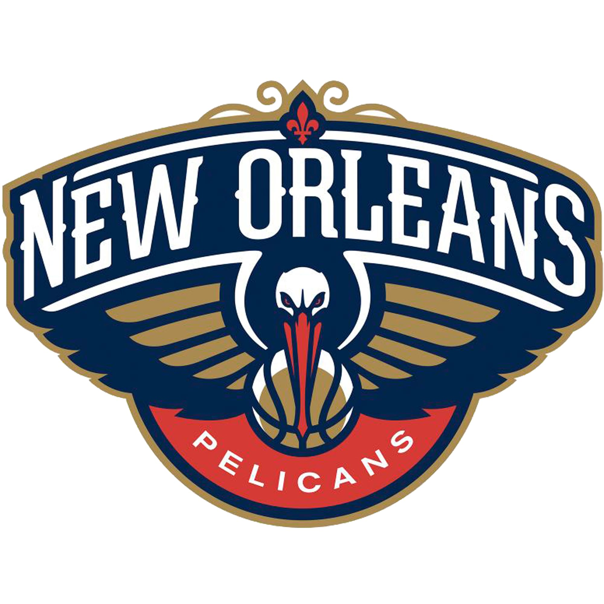 New Orleans Pelicans Fathead Giant Removable Decal