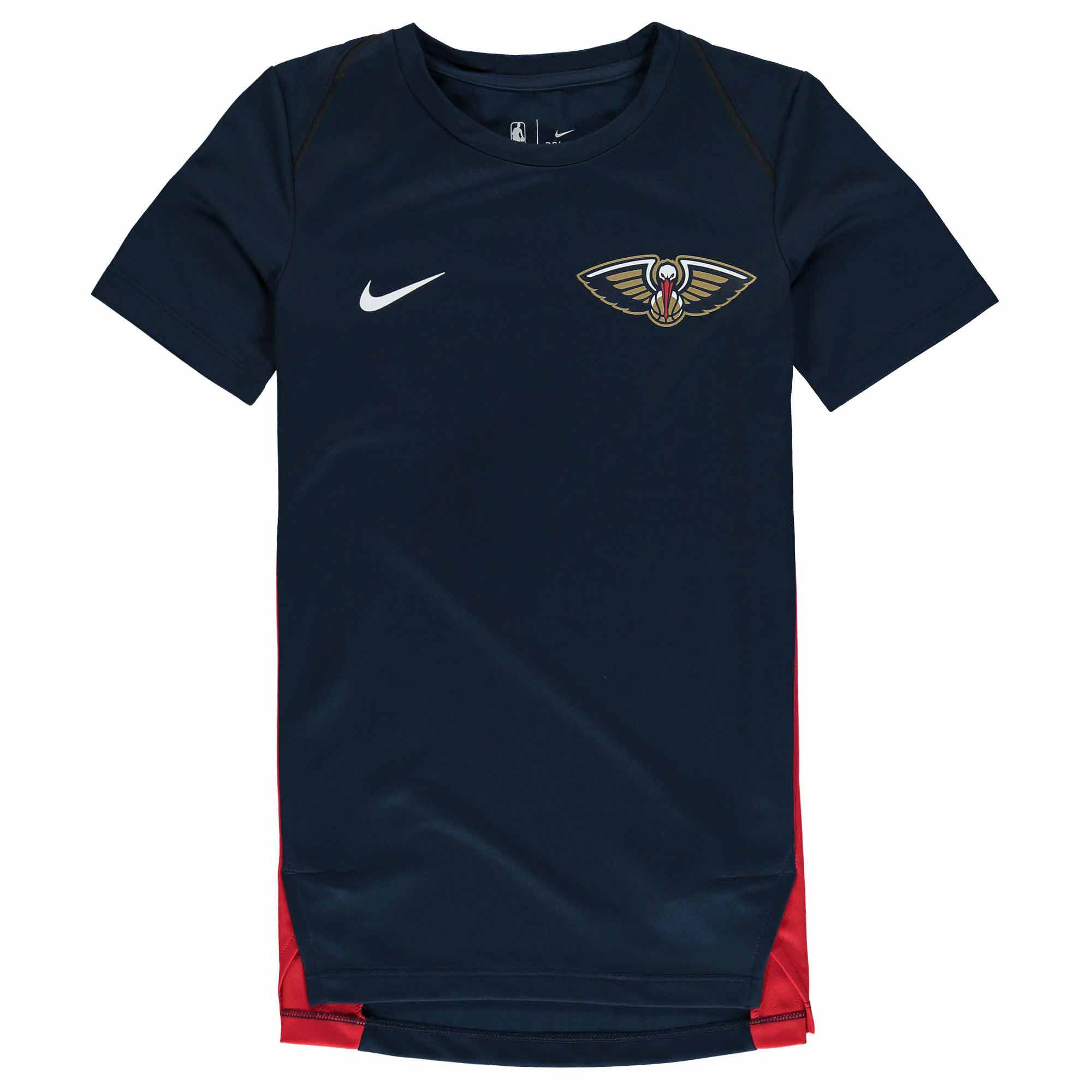 New Orleans Pelicans Nike Youth Hyperelite Shooter Performance T-Shirt - Navy