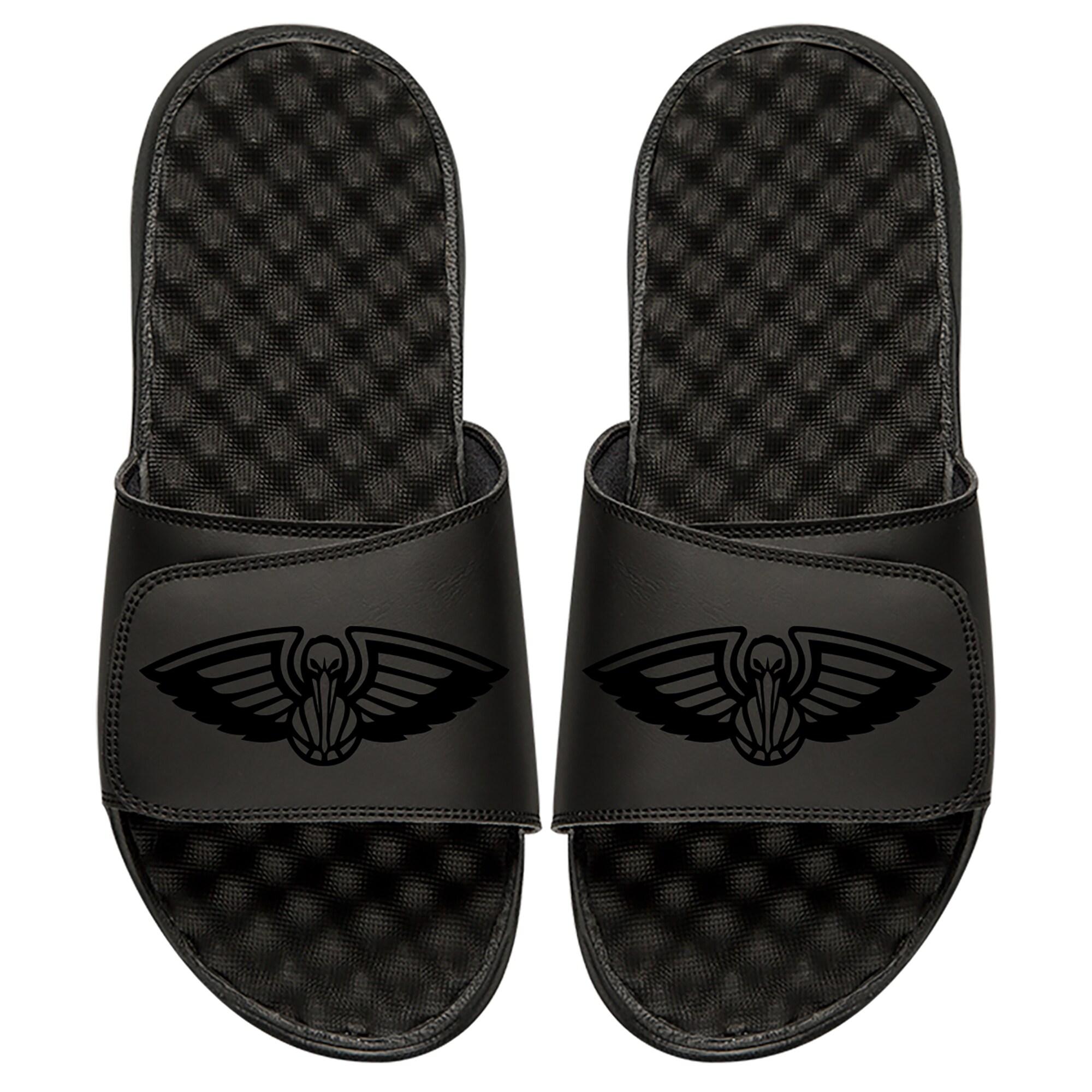 New Orleans Pelicans ISlide Tonal Slide Sandals - Black