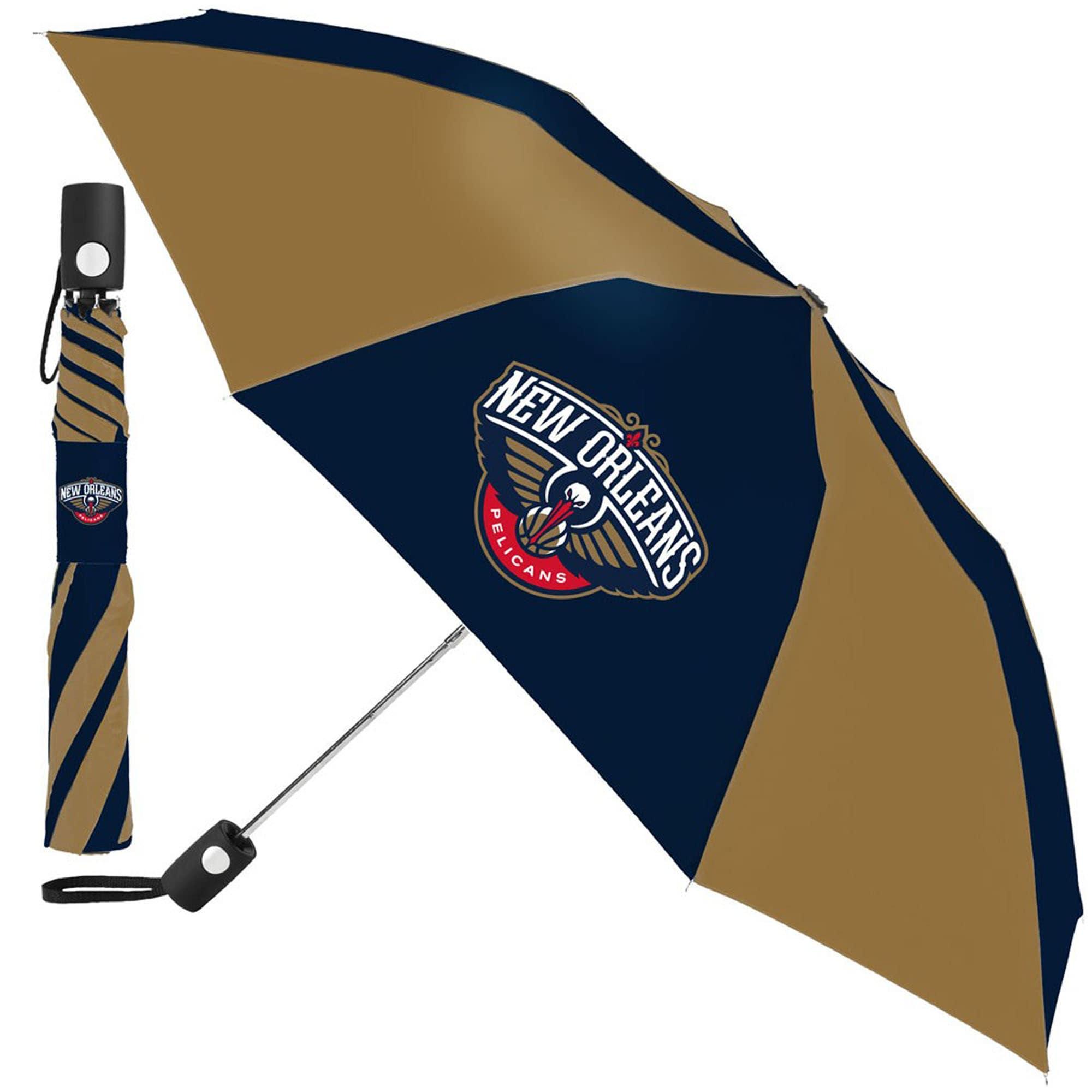 "New Orleans Pelicans WinCraft 42"" Folding Umbrella"