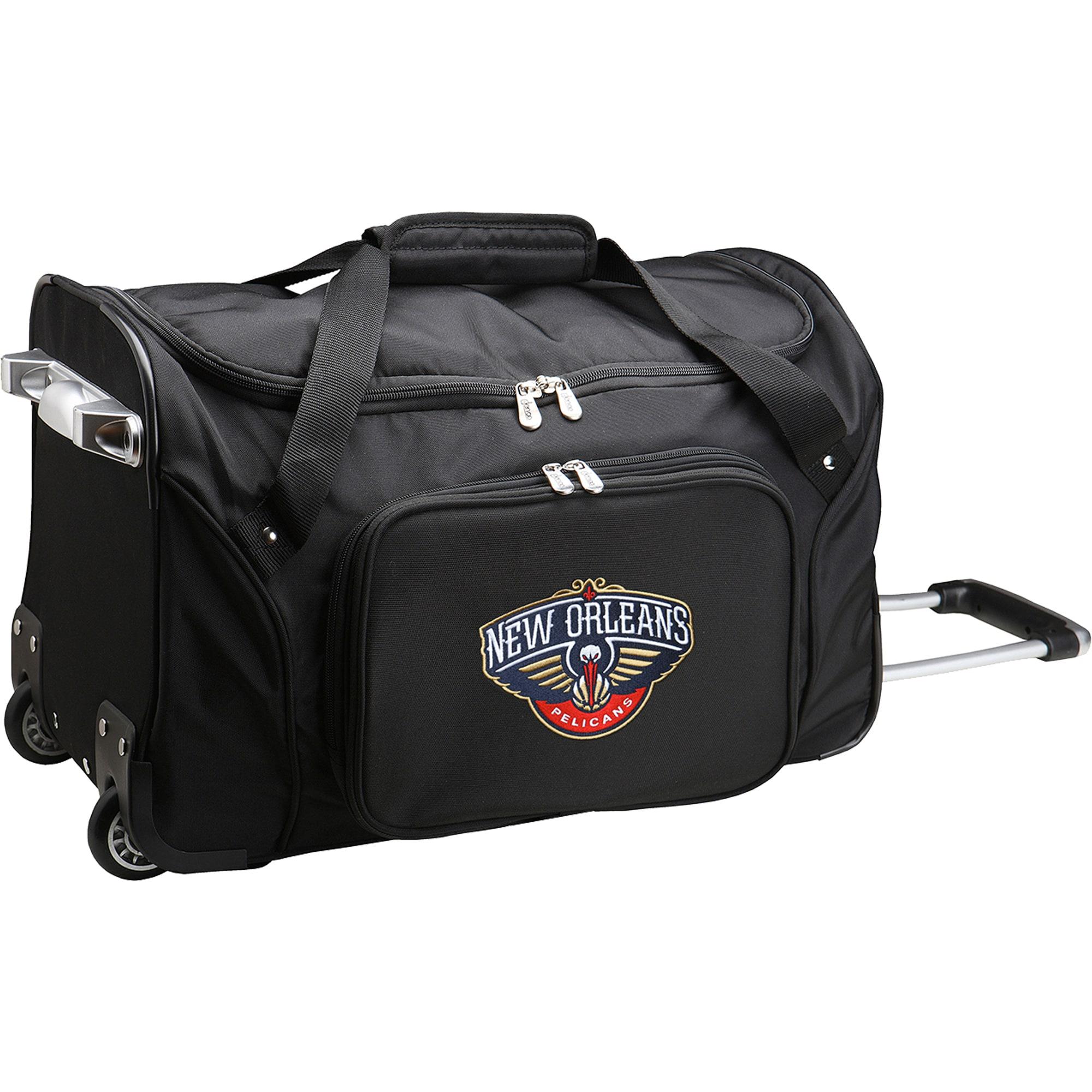 "New Orleans Pelicans 22"" 2-Wheeled Duffel Bag - Black"