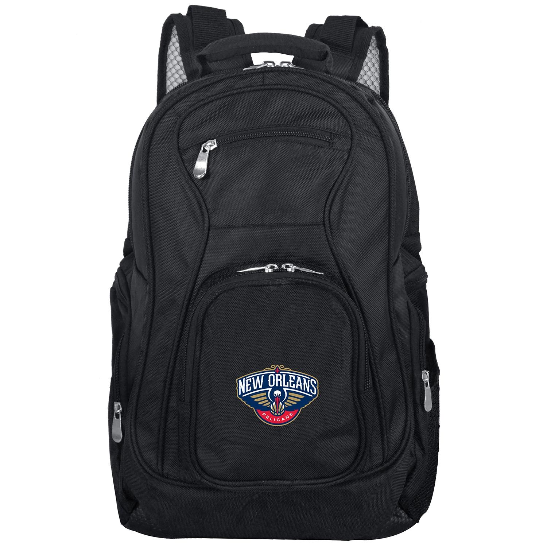 "New Orleans Pelicans 19"" Laptop Travel Backpack - Black"