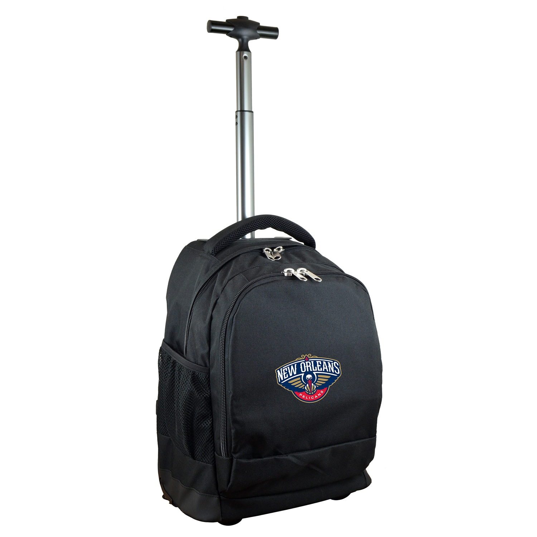 New Orleans Pelicans 19'' Premium Wheeled Backpack - Black