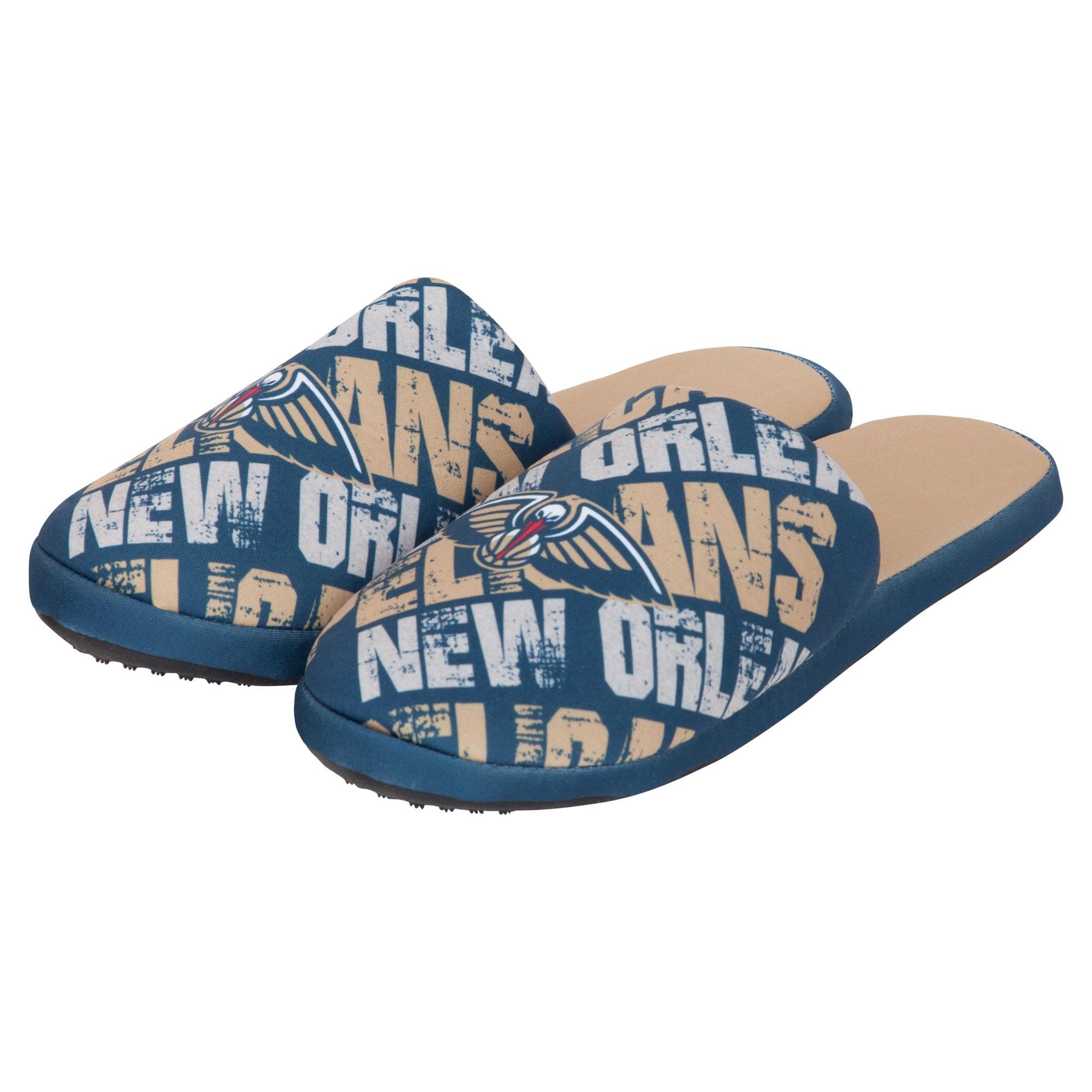 New Orleans Pelicans Digital Print Slippers - Navy