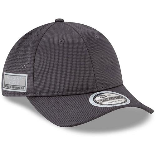 New Orleans Pelicans New Era Authentics Training 9TWENTY Adjustable Hat - Graphite