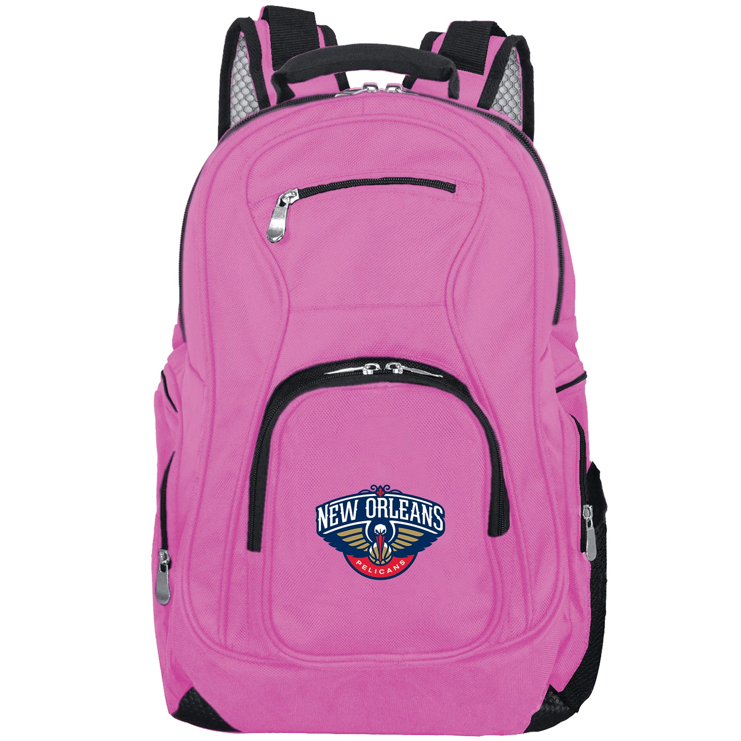 New Orleans Pelicans Backpack Laptop - Pink