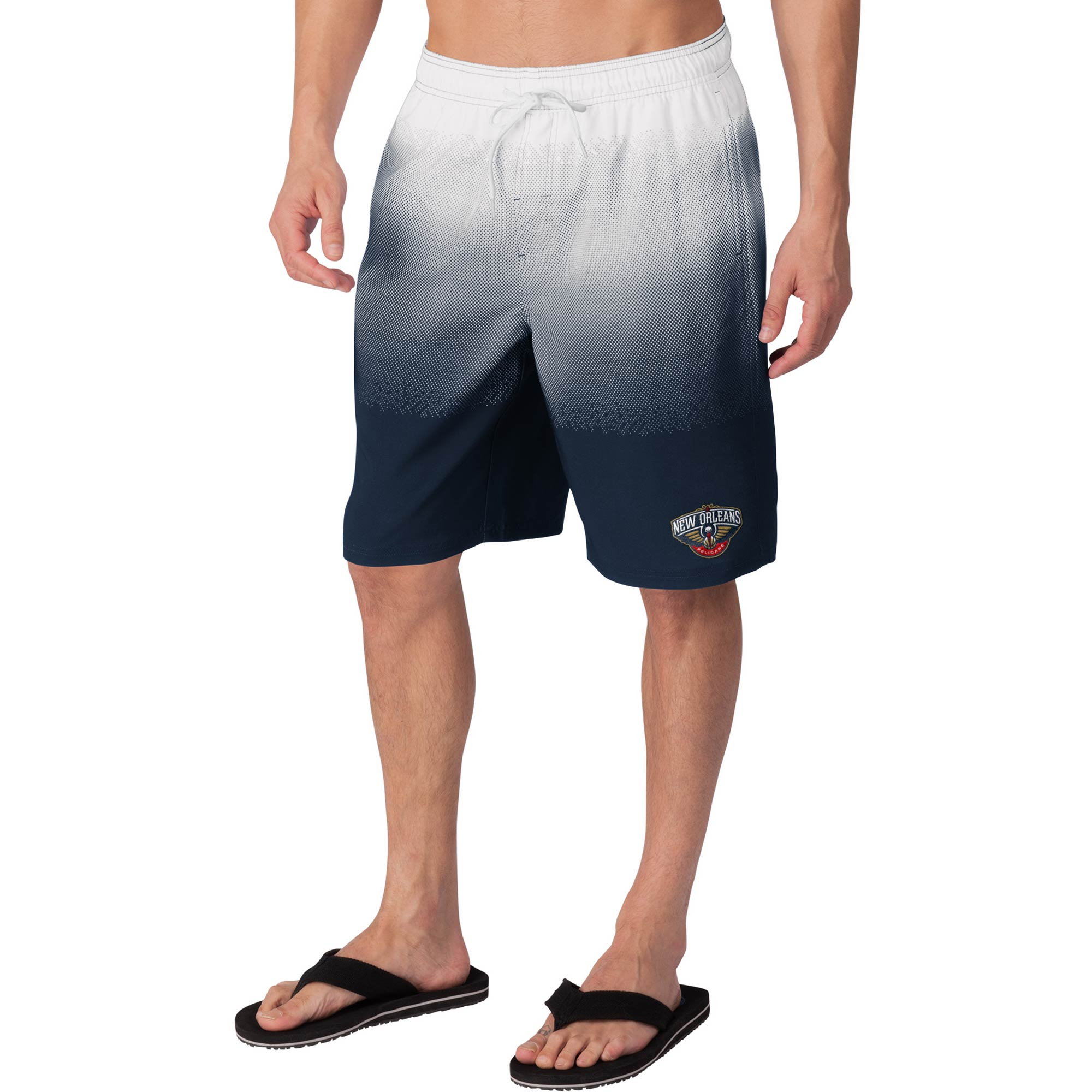 New Orleans Pelicans G-III Sports by Carl Banks Horizon Swim Trunks - Navy
