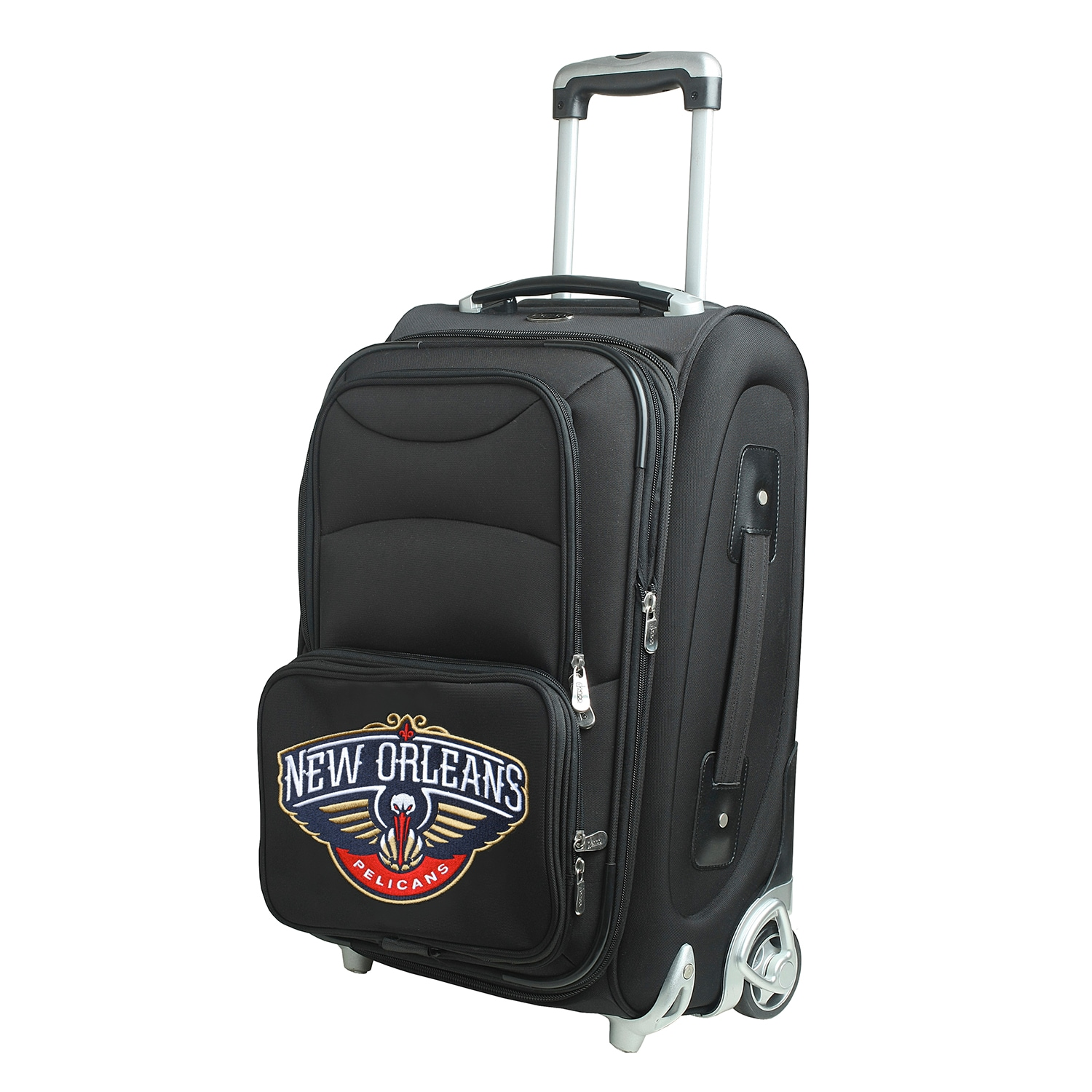 """New Orleans Pelicans 21"""" Rolling Carry-On Suitcase"""