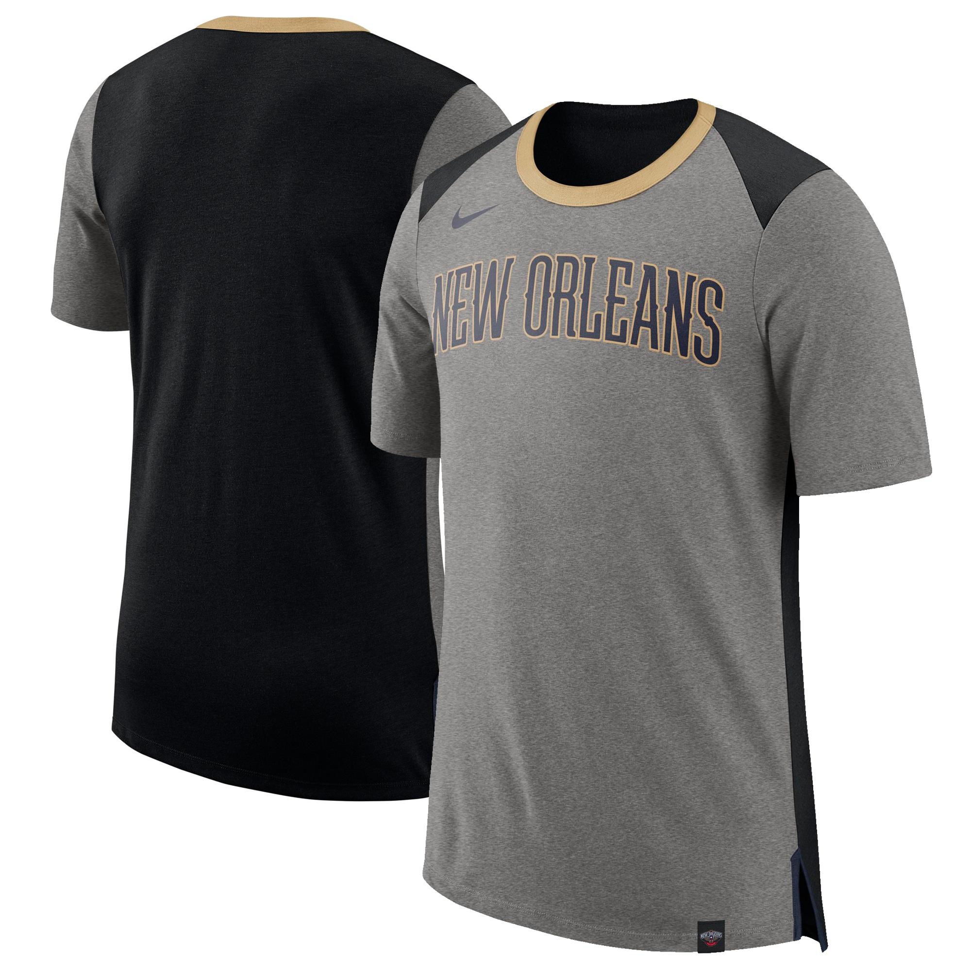 New Orleans Pelicans Nike Basketball Fan T-Shirt - Gray