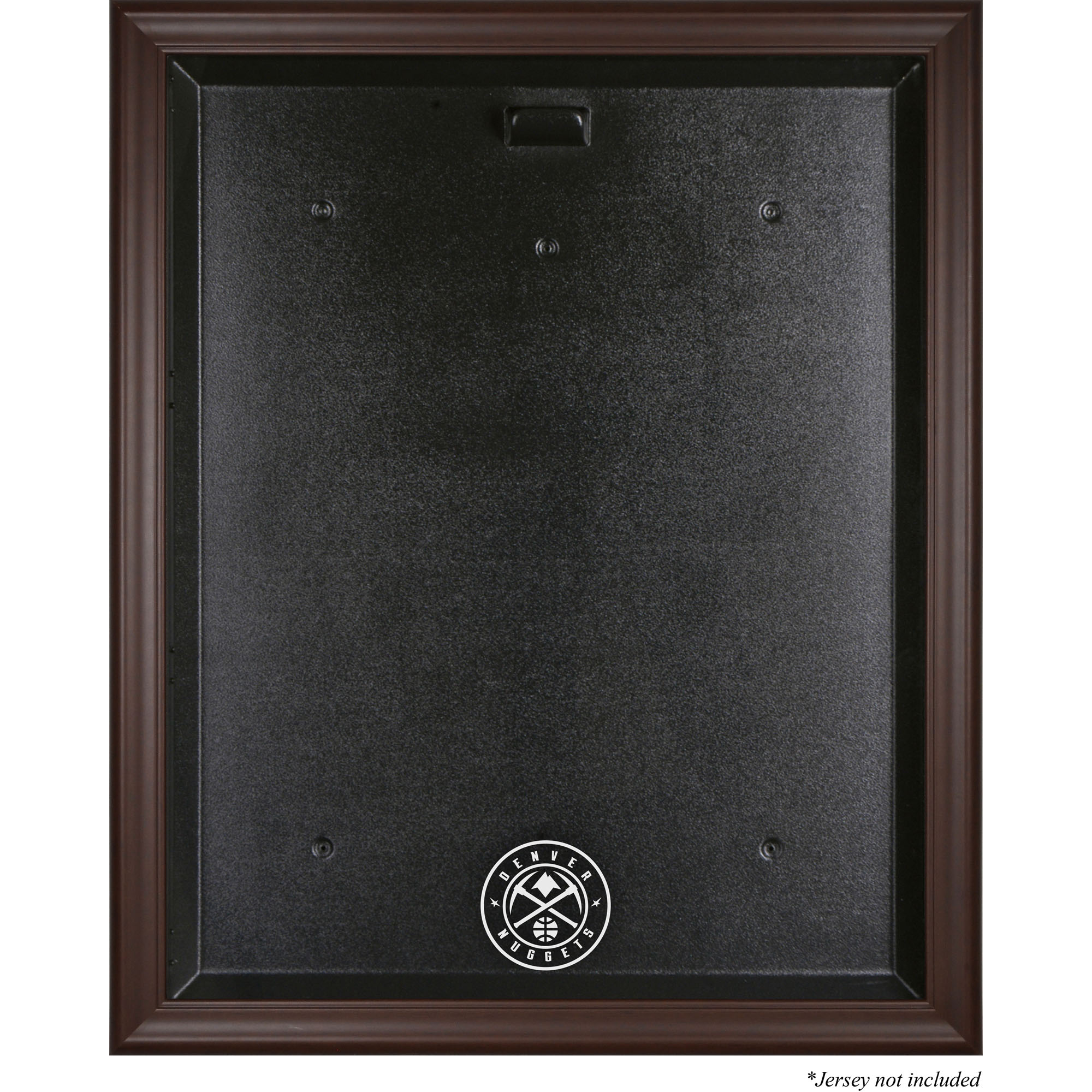 Denver Nuggets Fanatics Authentic Framed Brown Jersey Display Case