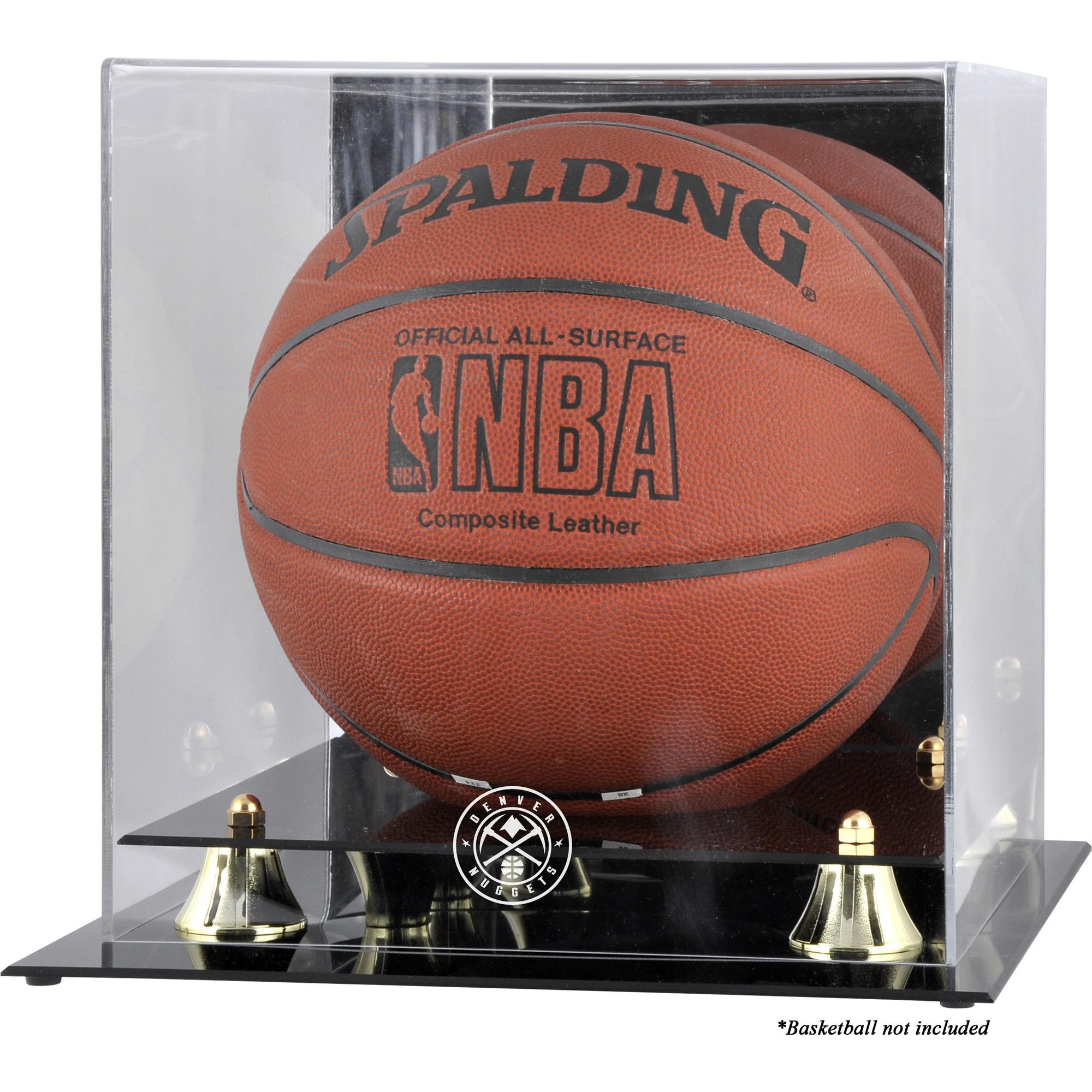 Denver Nuggets Fanatics Authentic Golden Classic Team Logo Basketball Display Case