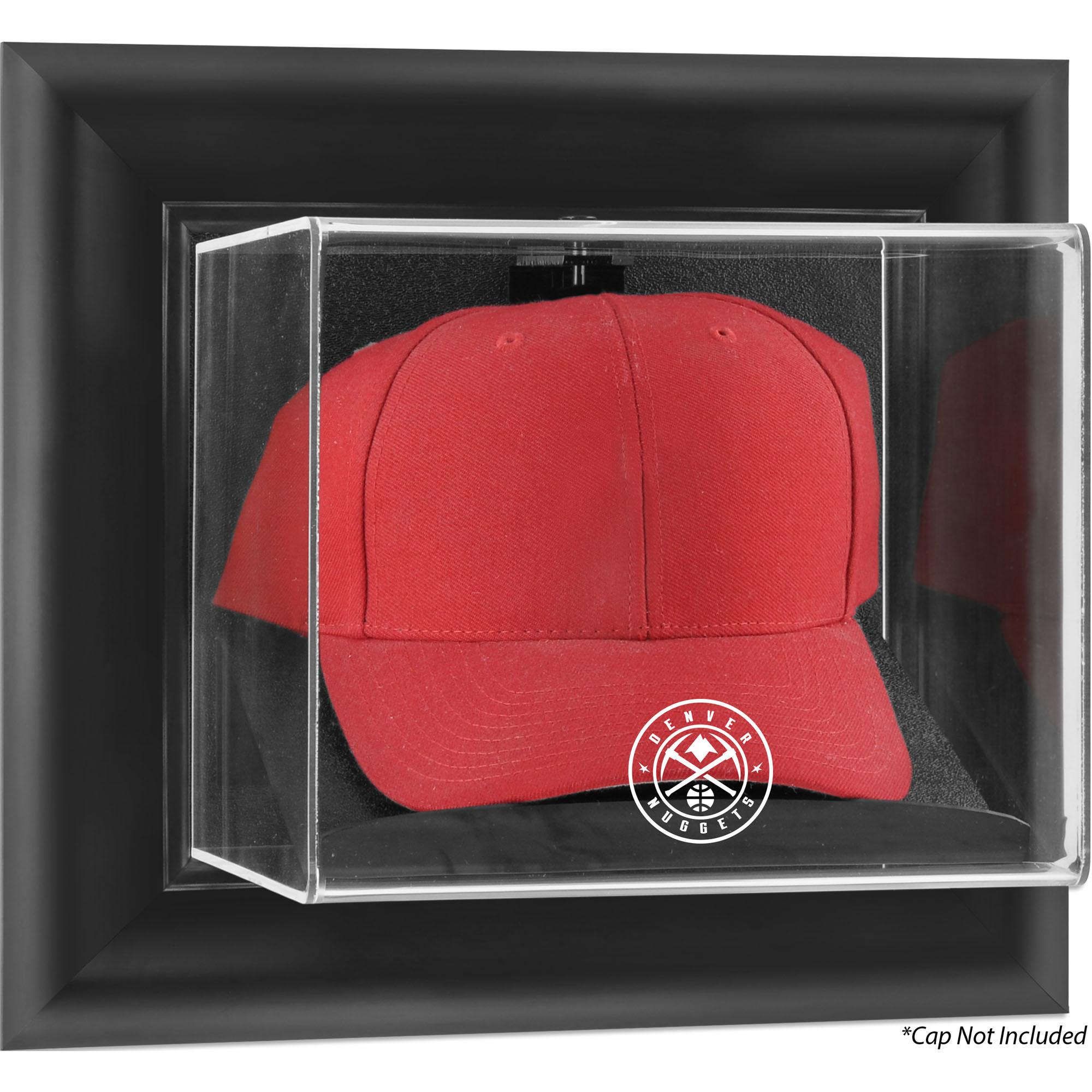 Denver Nuggets Fanatics Authentic Framed Black Wall-Mountable Cap Display Case