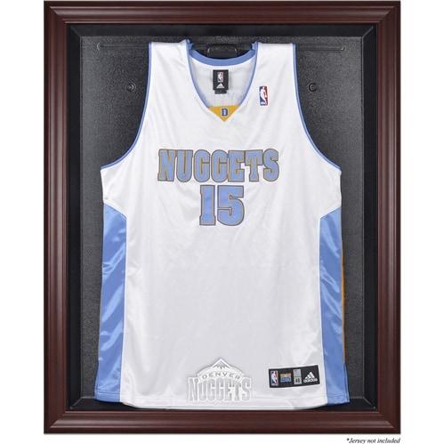 Denver Nuggets Fanatics Authentic Hardwood Classics 1993 - 2018 Mahogany Framed Team Logo Jersey Display Case