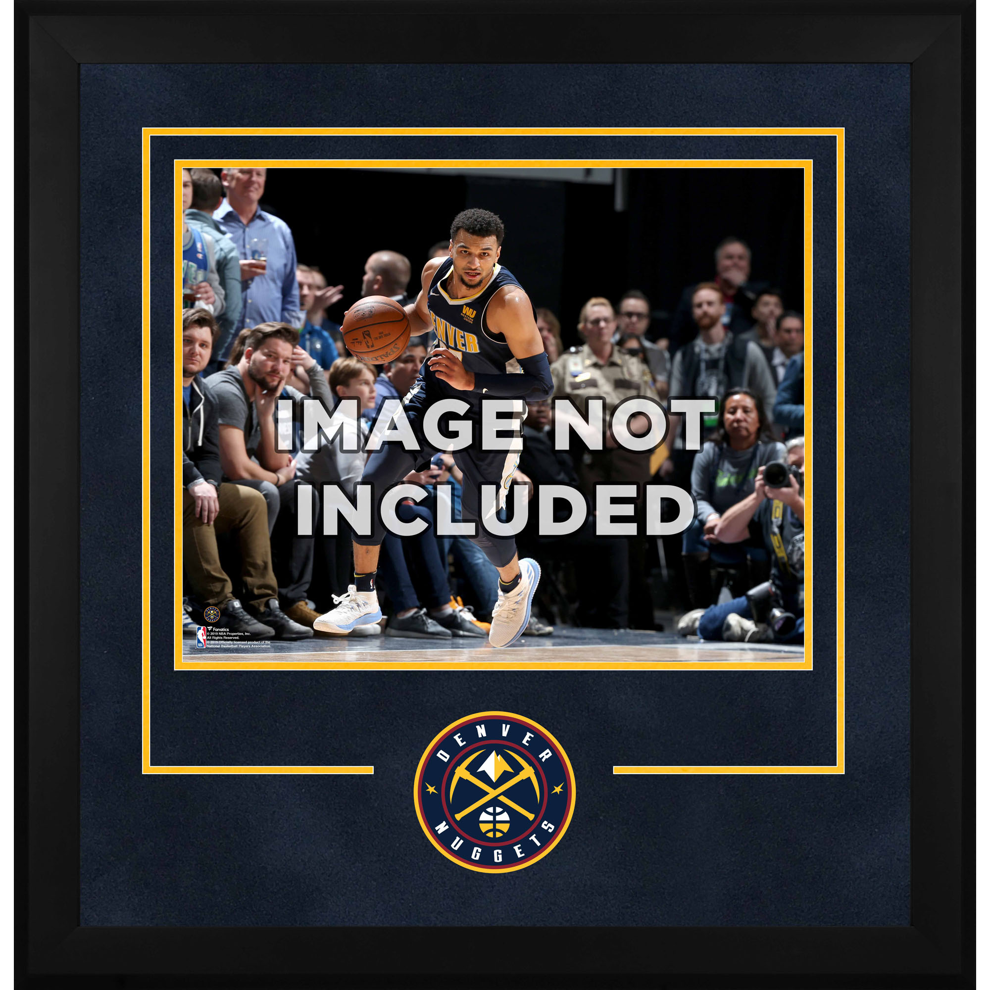"Denver Nuggets Fanatics Authentic 16"" x 20"" Horizontal Deluxe Setup Frame with Team Logo"