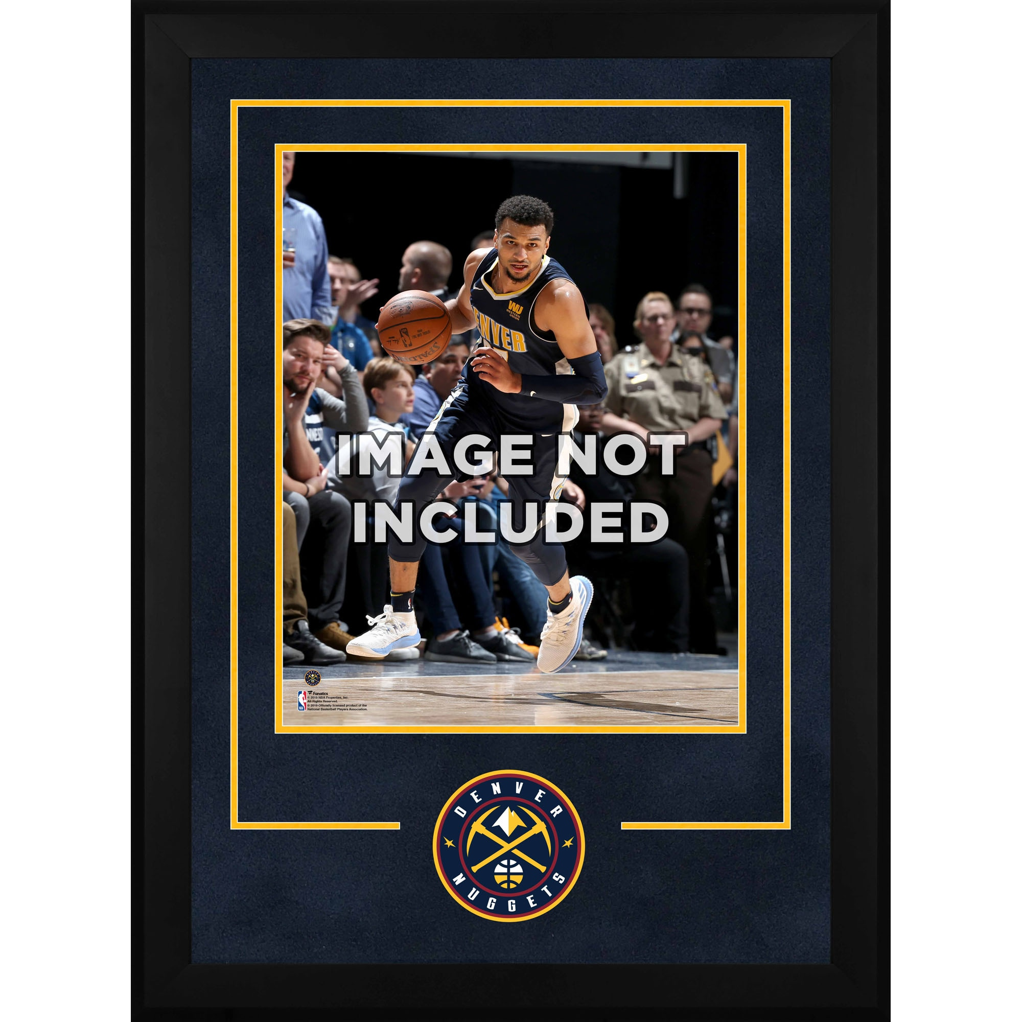 """Denver Nuggets Fanatics Authentic 16"""" x 20"""" Deluxe Horizontal Frame with Team Logo"""