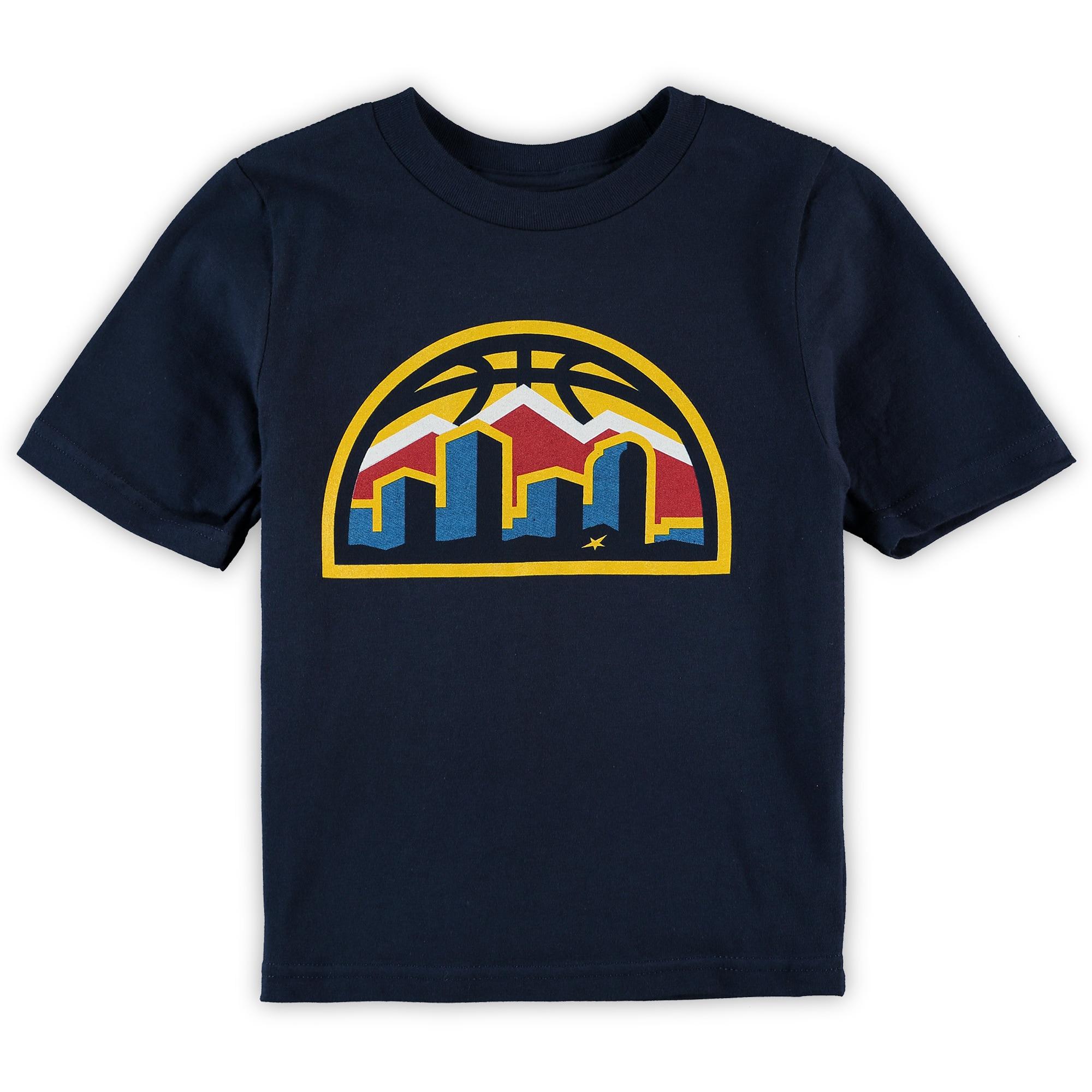 Denver Nuggets Preschool Primary Team Logo T-Shirt - Navy