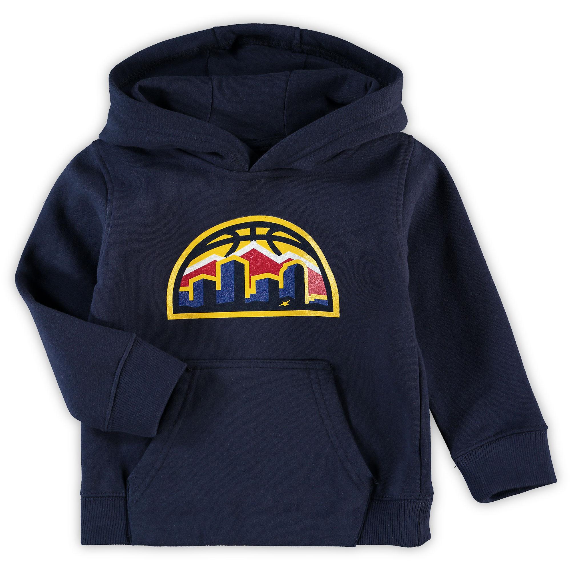 Denver Nuggets Preschool & Toddler Primary Logo Pullover Hoodie - Navy