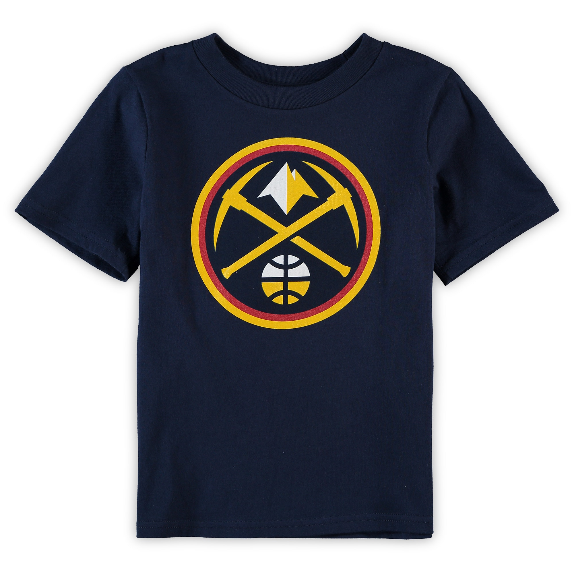 Denver Nuggets Toddler Primary Logo T-Shirt - Navy