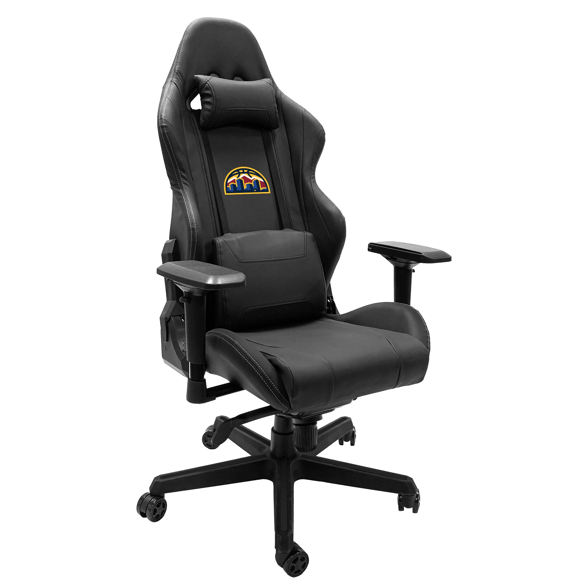 Denver Nuggets Logo Team Xpression Gaming Chair