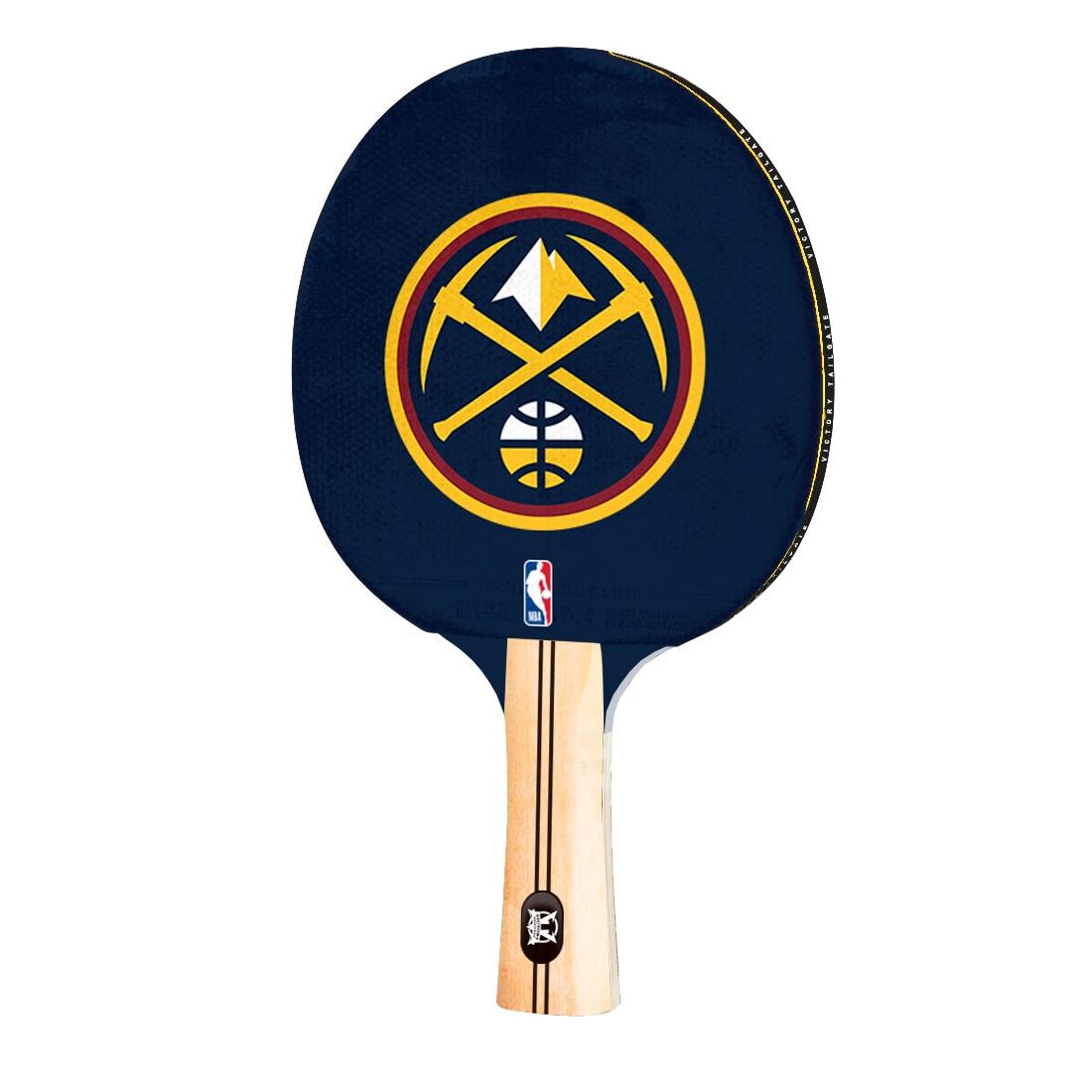 Denver Nuggets Logo Table Tennis Paddle