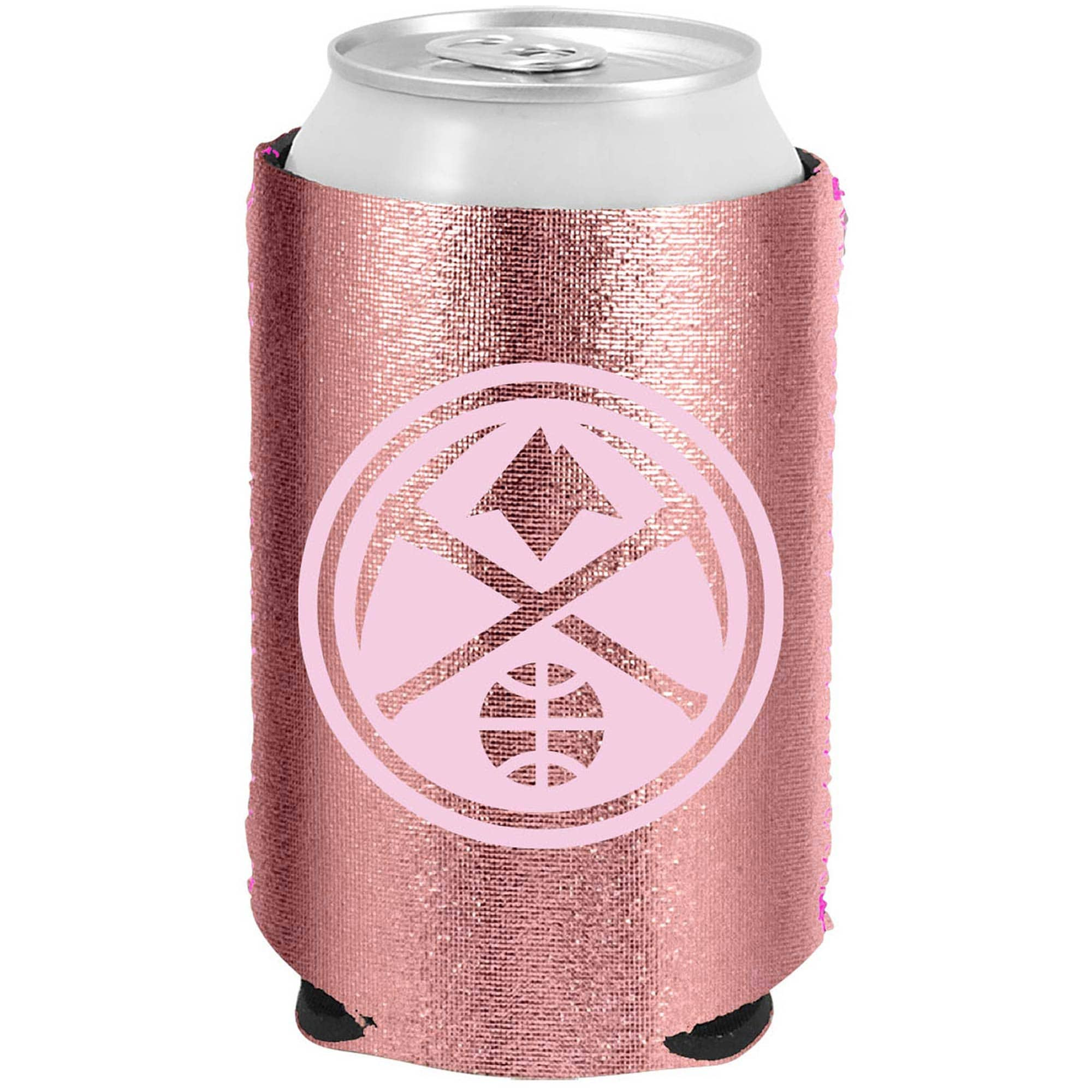 Denver Nuggets 12oz. Rose Gold Can Cooler