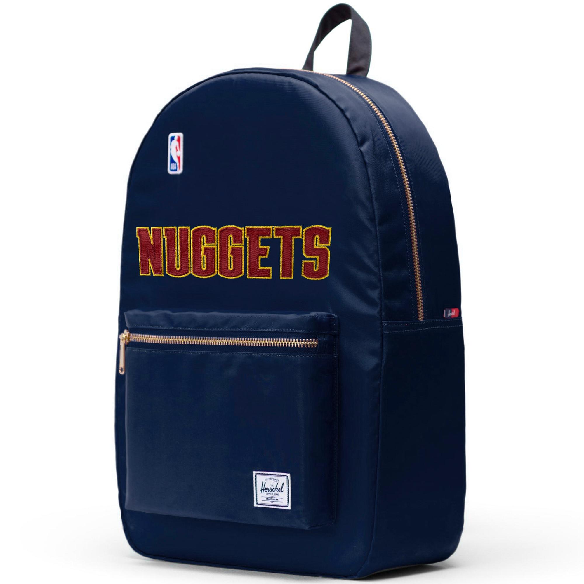 Denver Nuggets Herschel Supply Co. Satin Settlement Backpack - Blue