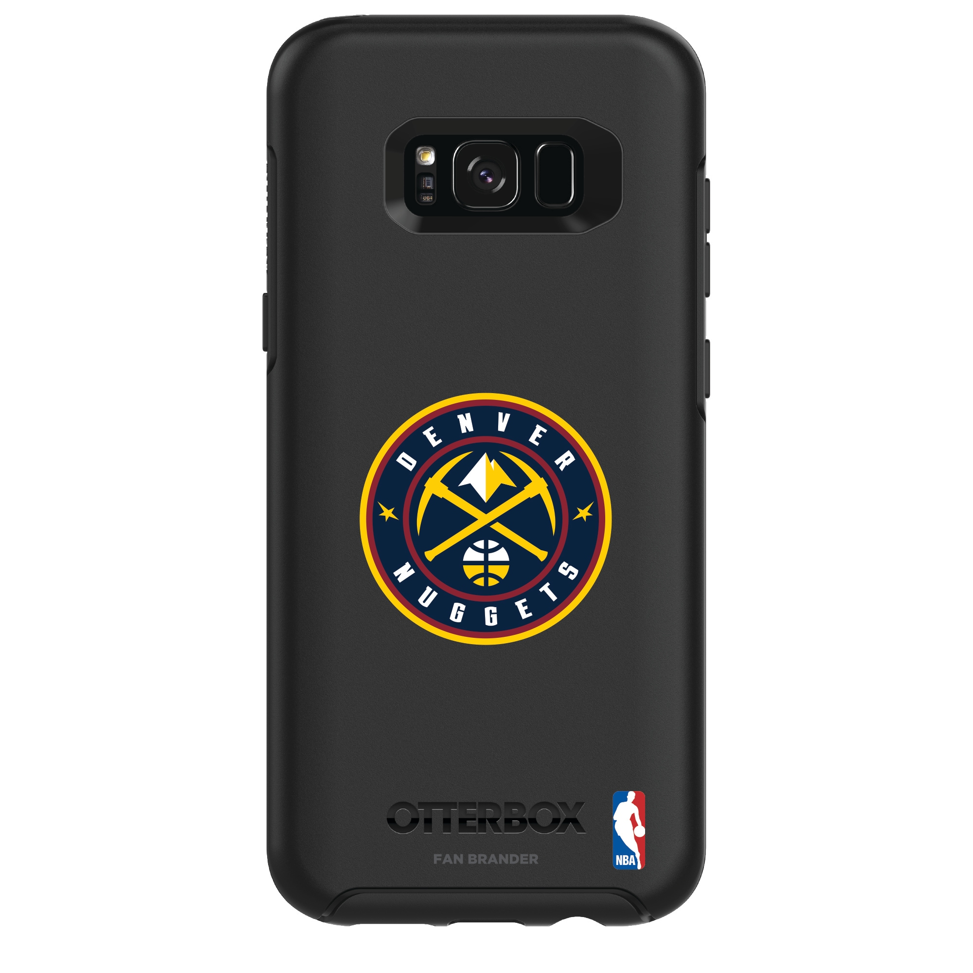 Denver Nuggets OtterBox Galaxy Primary Logo Symmetry Case