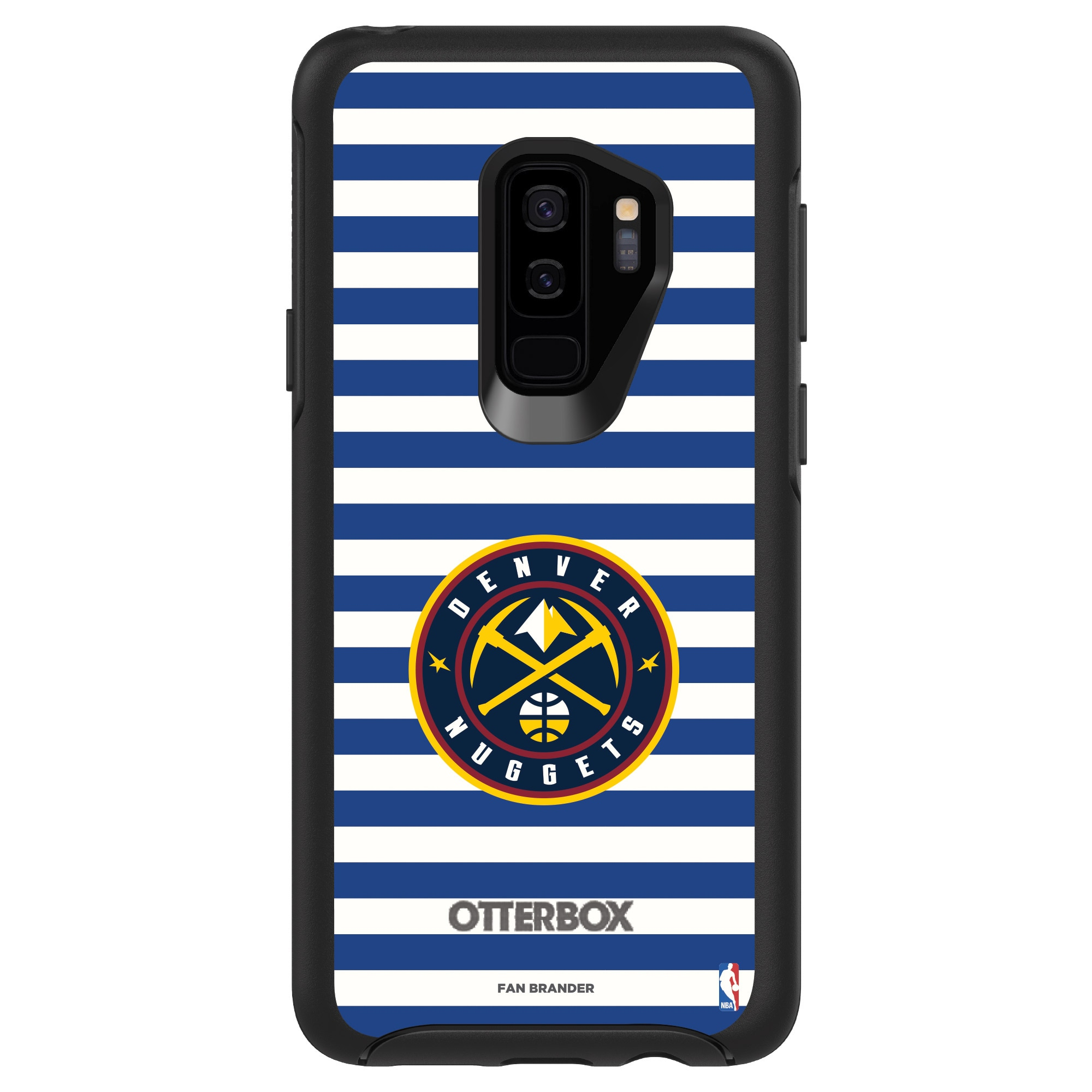 Denver Nuggets OtterBox Galaxy Symmetry Striped Design Case