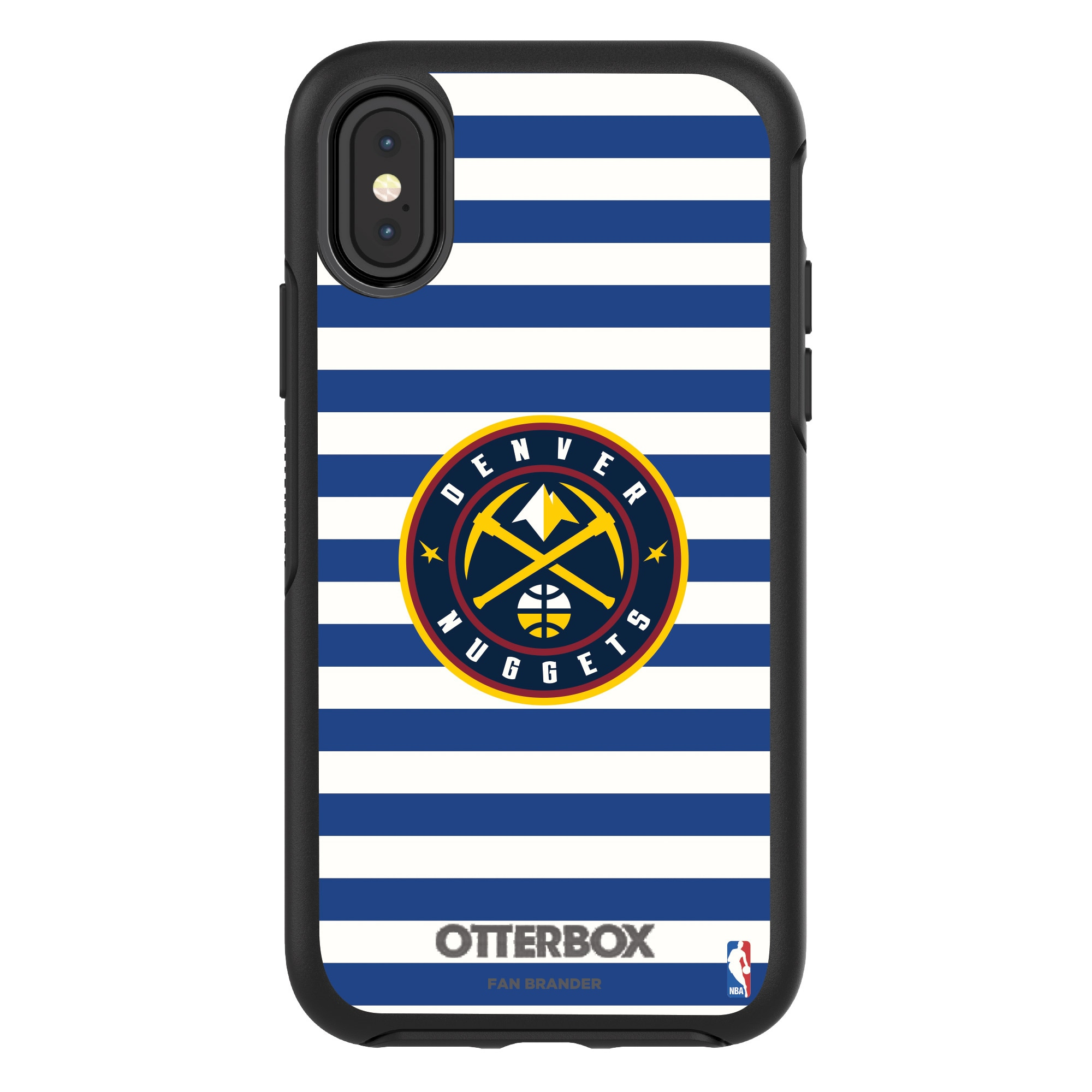Denver Nuggets OtterBox iPhone Symmetry Striped Design Case