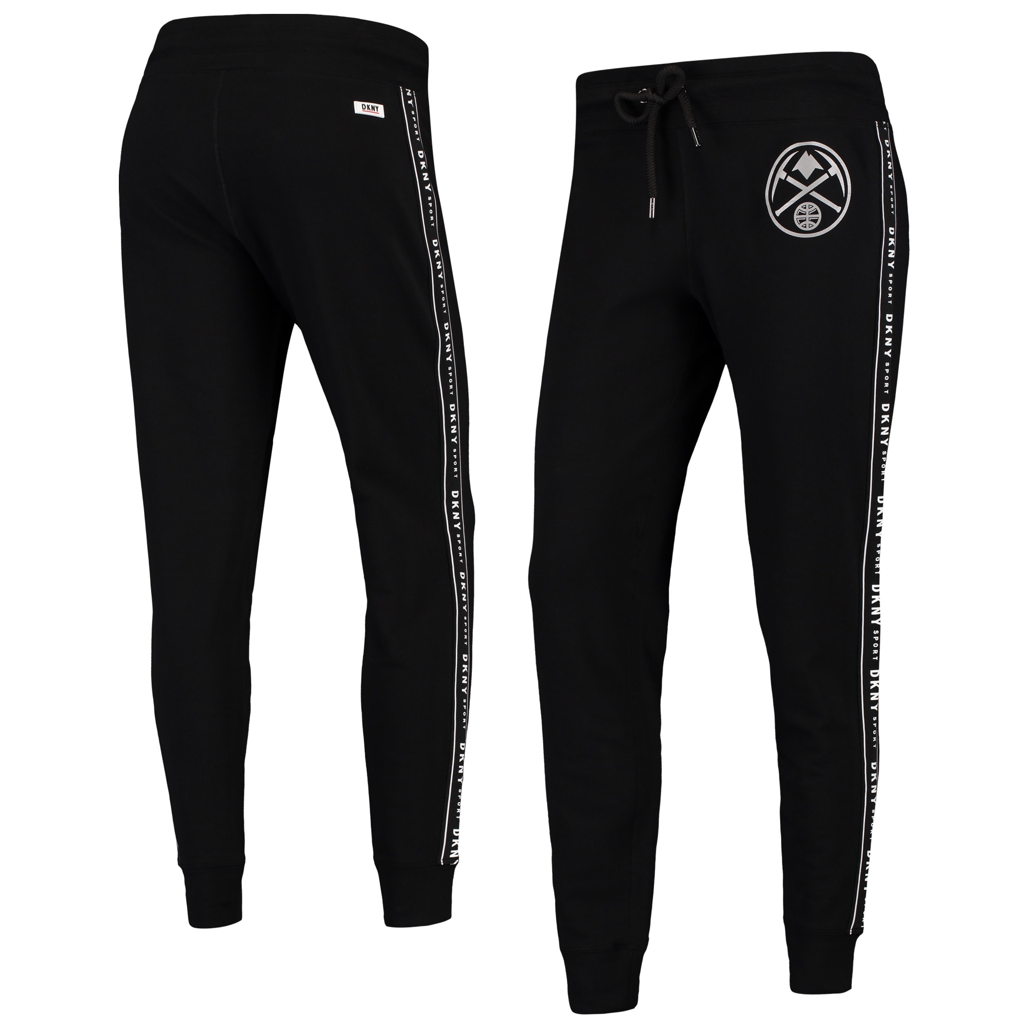 Denver Nuggets DKNY Sport Women's Brooke Jogger Pants - Black