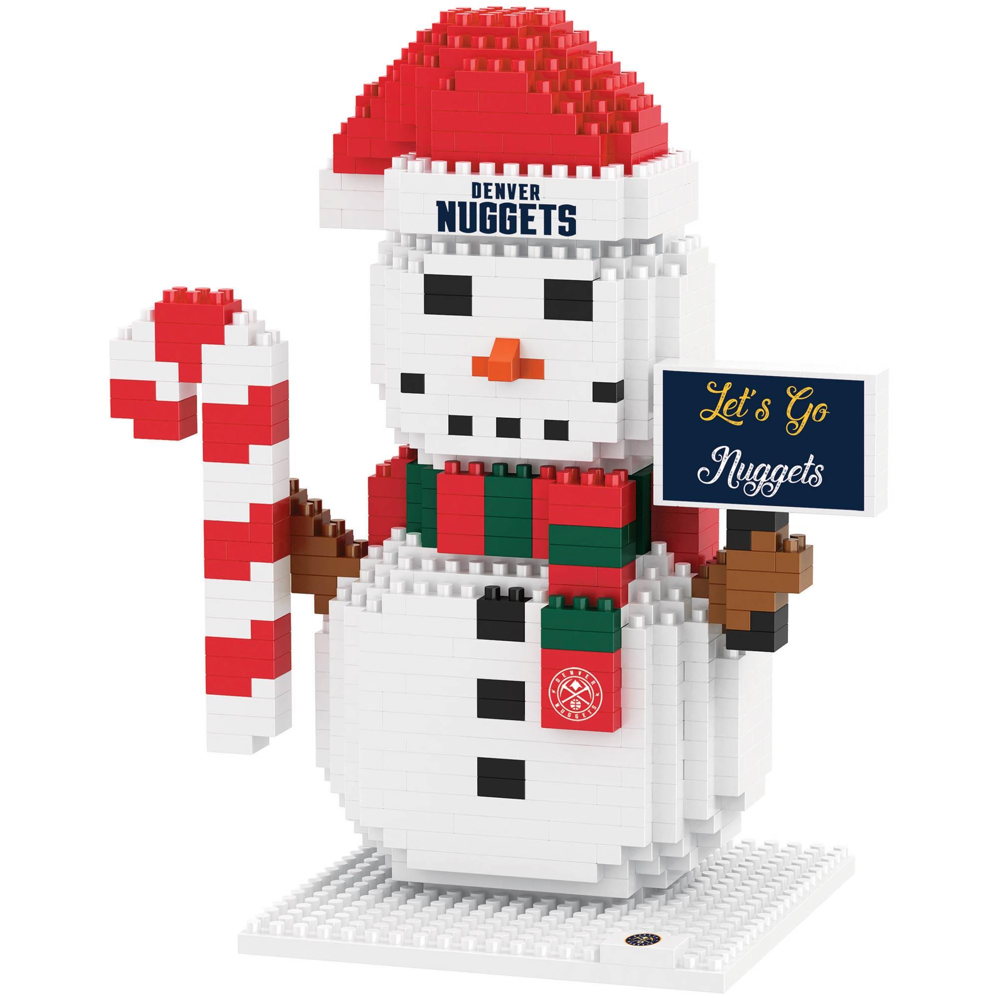 Denver Nuggets Snowman BRXLZ 3D Puzzle
