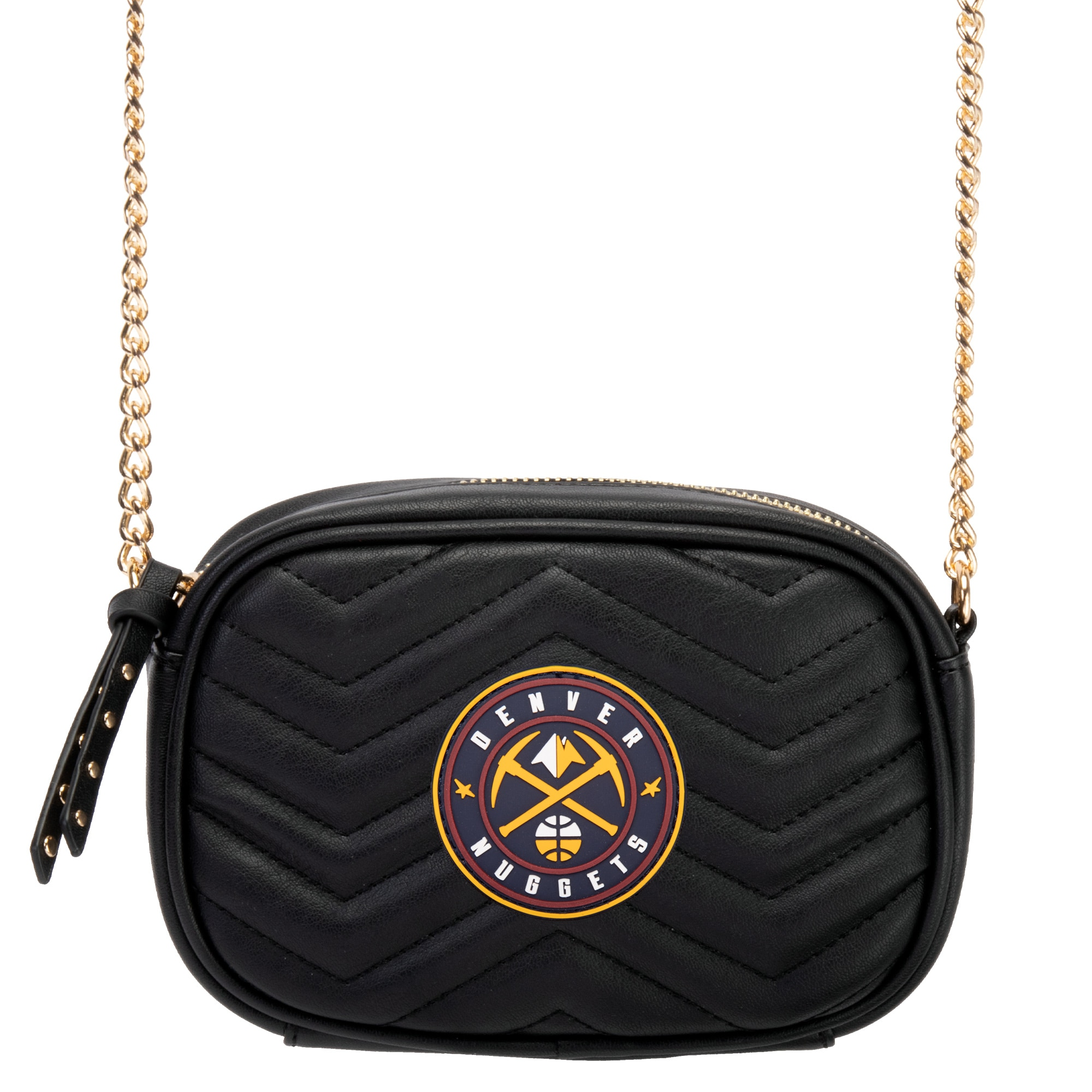 Denver Nuggets Women's Crossbody Bag - Black