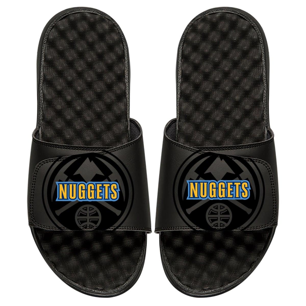 Denver Nuggets ISlide Tonal Pop Slide Sandals - Black